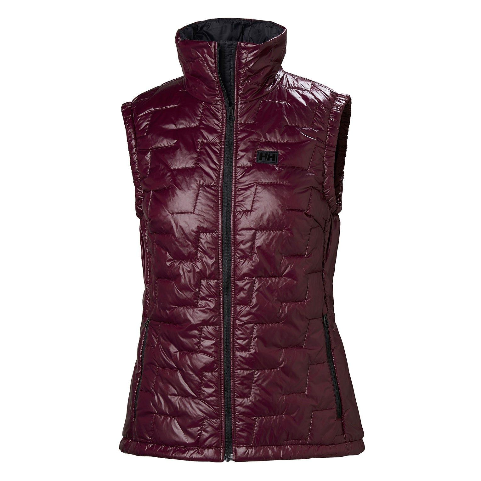 Helly Hansen W Lifaloft Insulator Vest Womens Sailing Jacket Purple XL