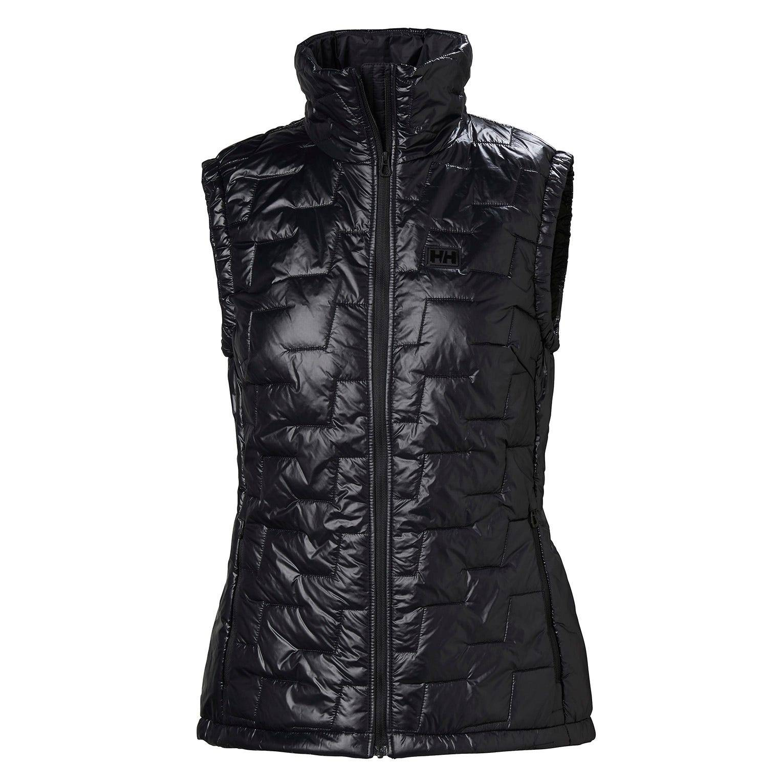 Helly Hansen W Lifaloft Insulator Vest Womens Midlayer Black M