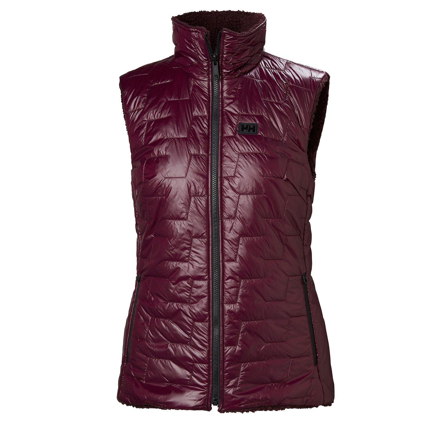 Helly Hansen W Lifaloft Propile Vest Womens Fleece Purple XS