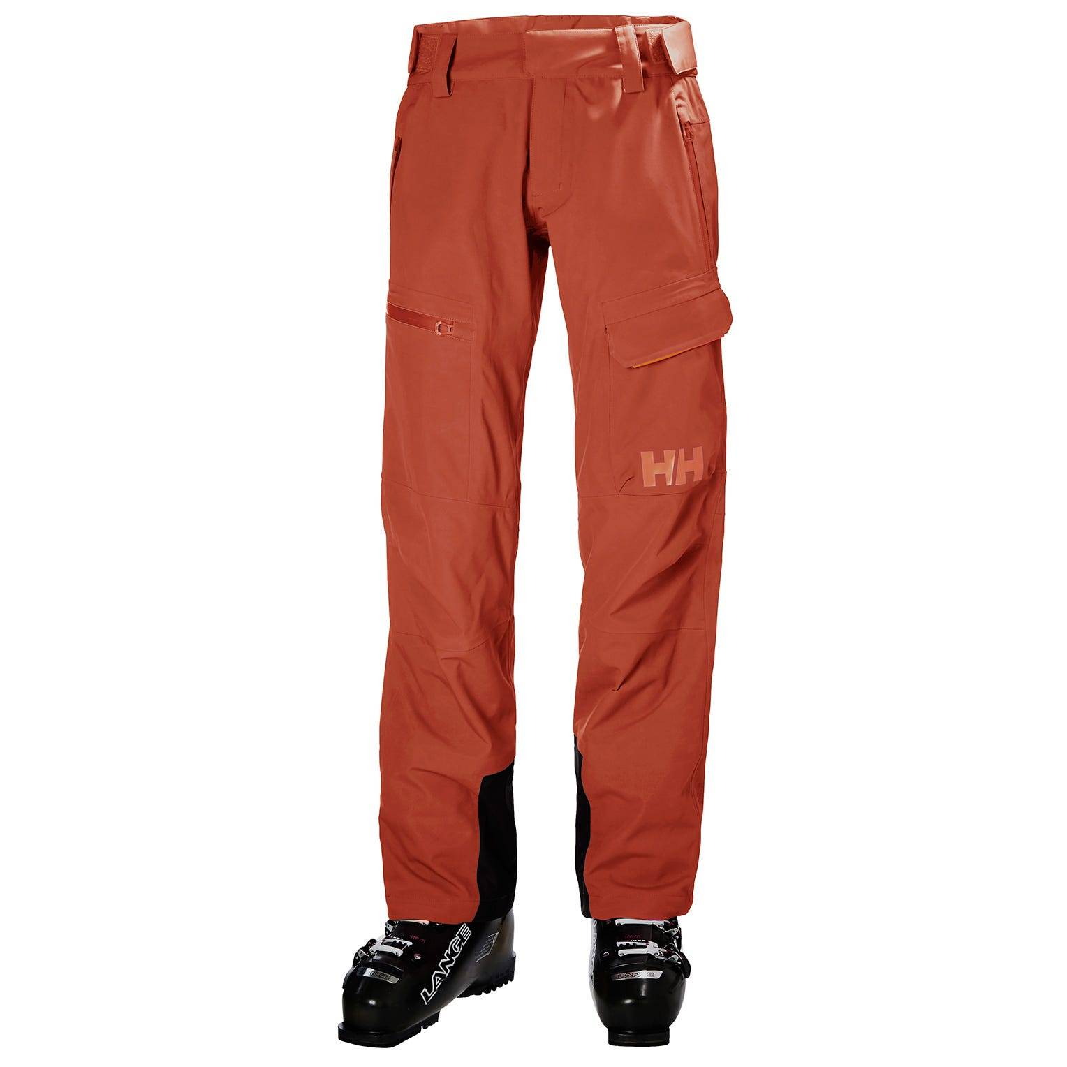Helly Hansen W Aurora Shell 2.0 Pant Womens Ski Red L