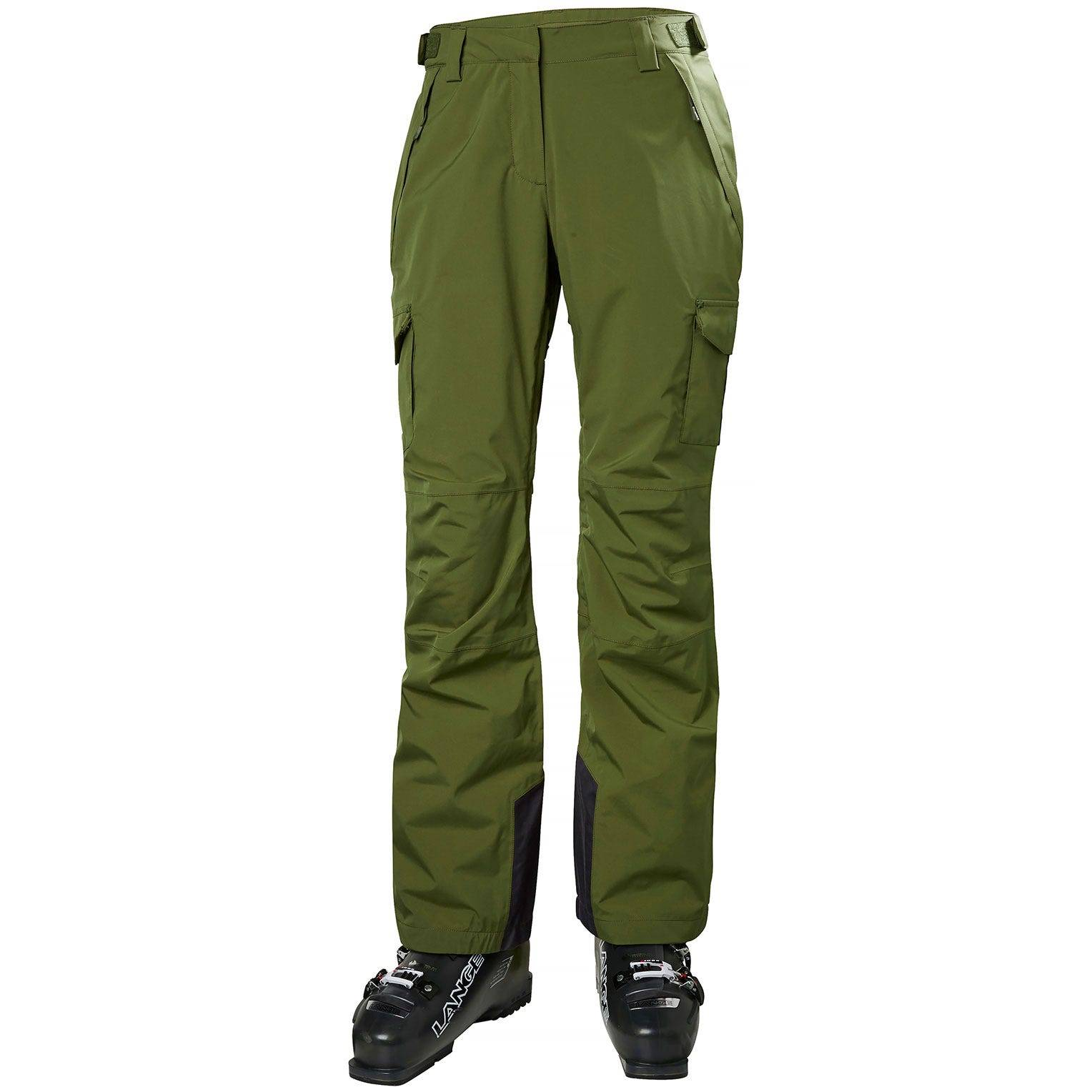 Helly Hansen W Switch Cargo 2.0 Pant Womens Ski Green L