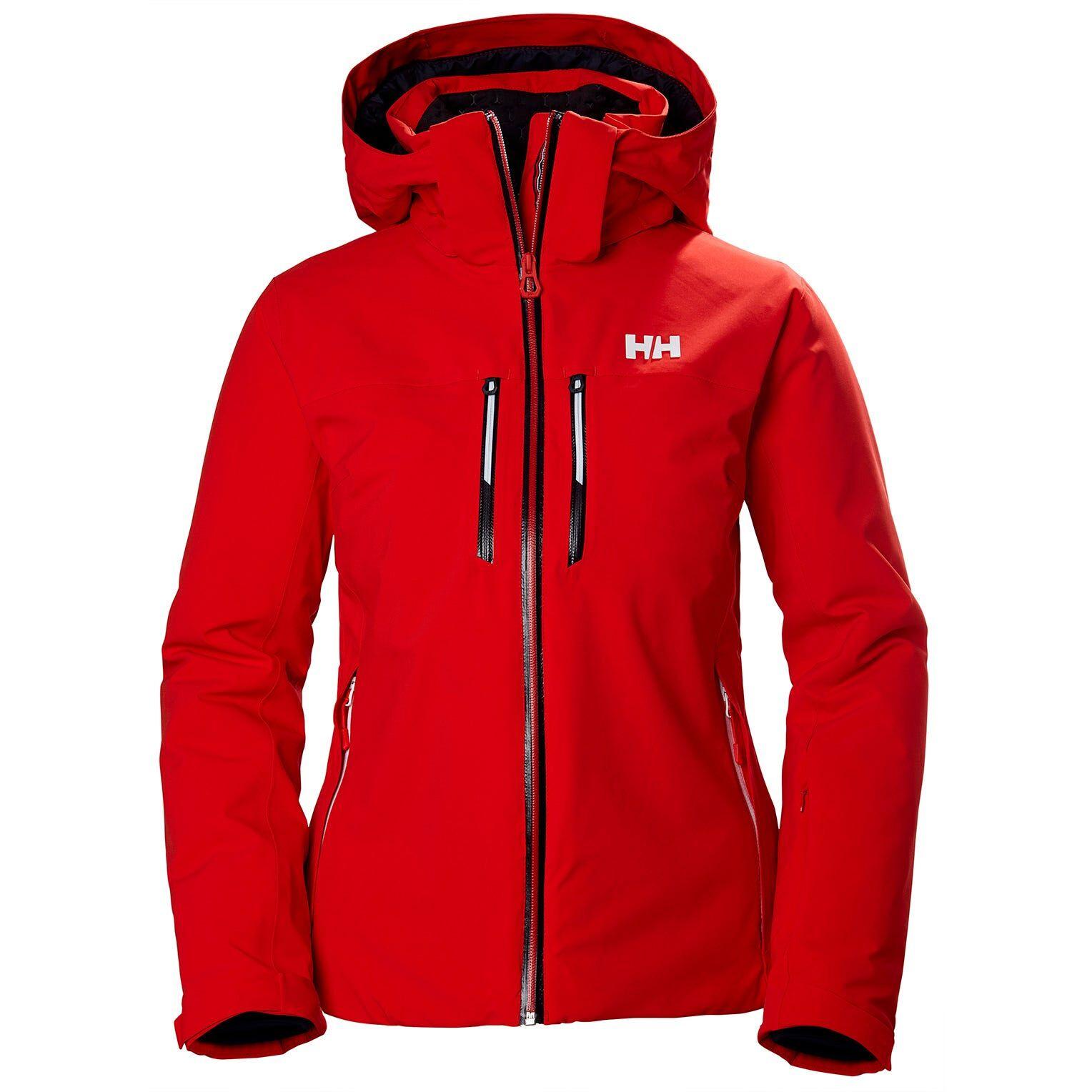 Helly Hansen W Alphelia Lifaloftjacket Womens Midlayer Red S