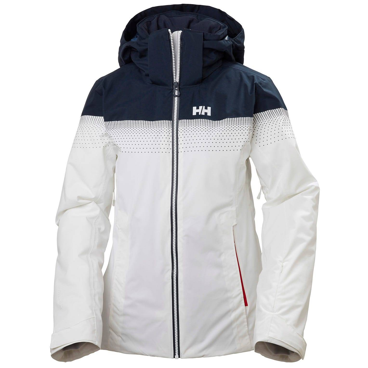 Helly Hansen W Motionista Lifaloft Jacket Womens Midlayer White S