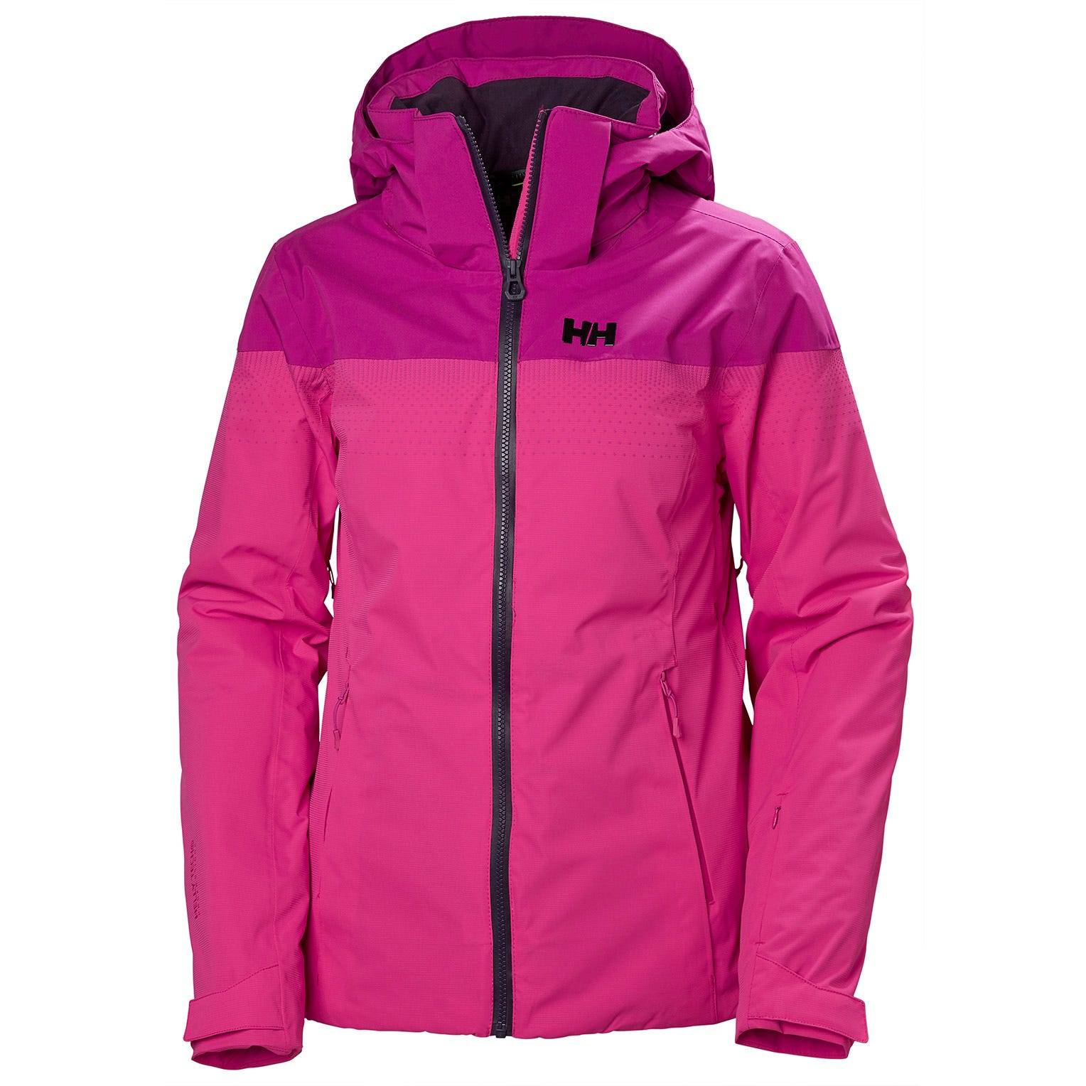 Helly Hansen W Motionista Lifaloft Jacket Womens Midlayer Pink L