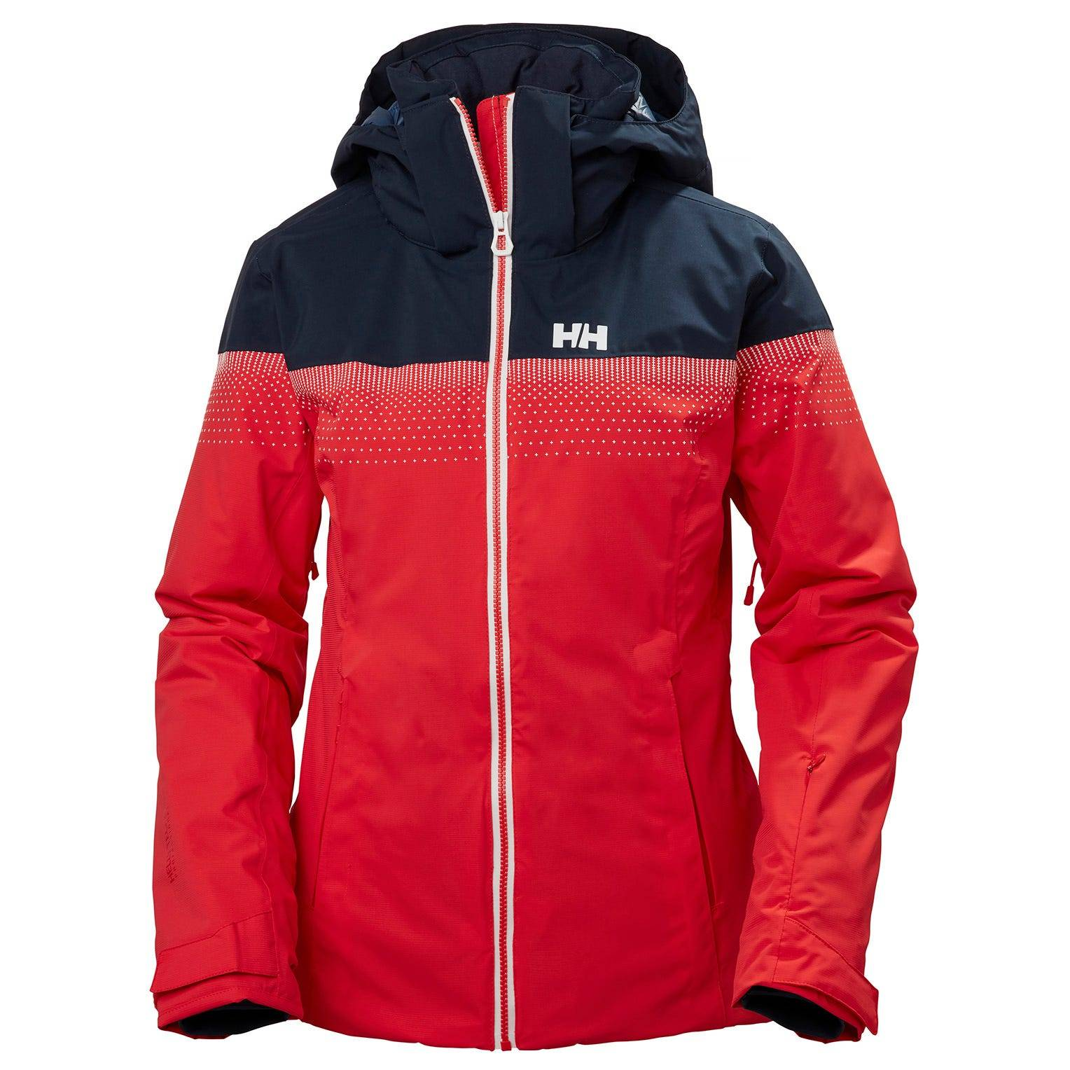 Helly Hansen W Motionista Lifaloft Jacket Womens Midlayer Red S