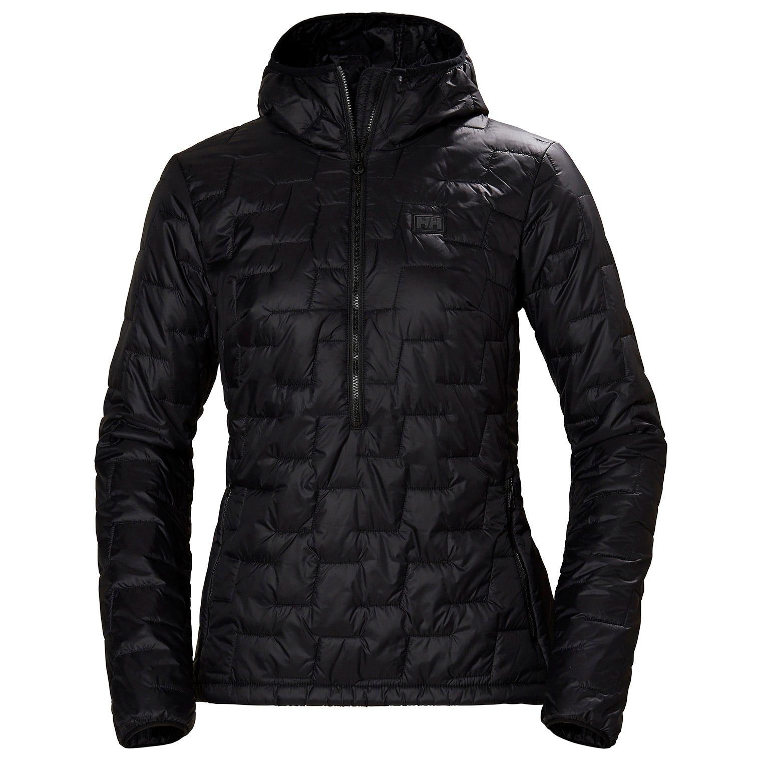 Helly Hansen W Lifaloft Insulator Pullover Womens Midlayer Black S
