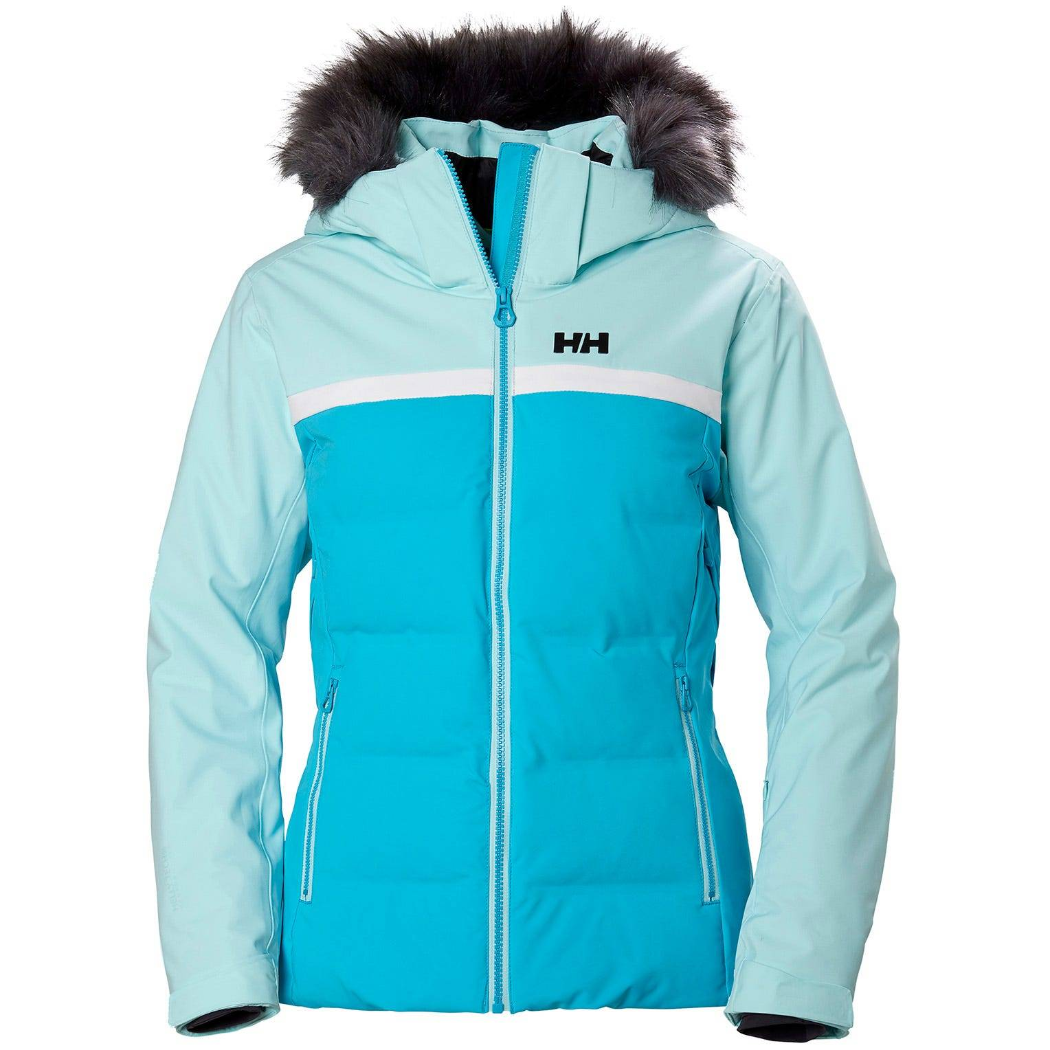 Helly Hansen W Powderstar Jacket Womens Fleece Yellow XS