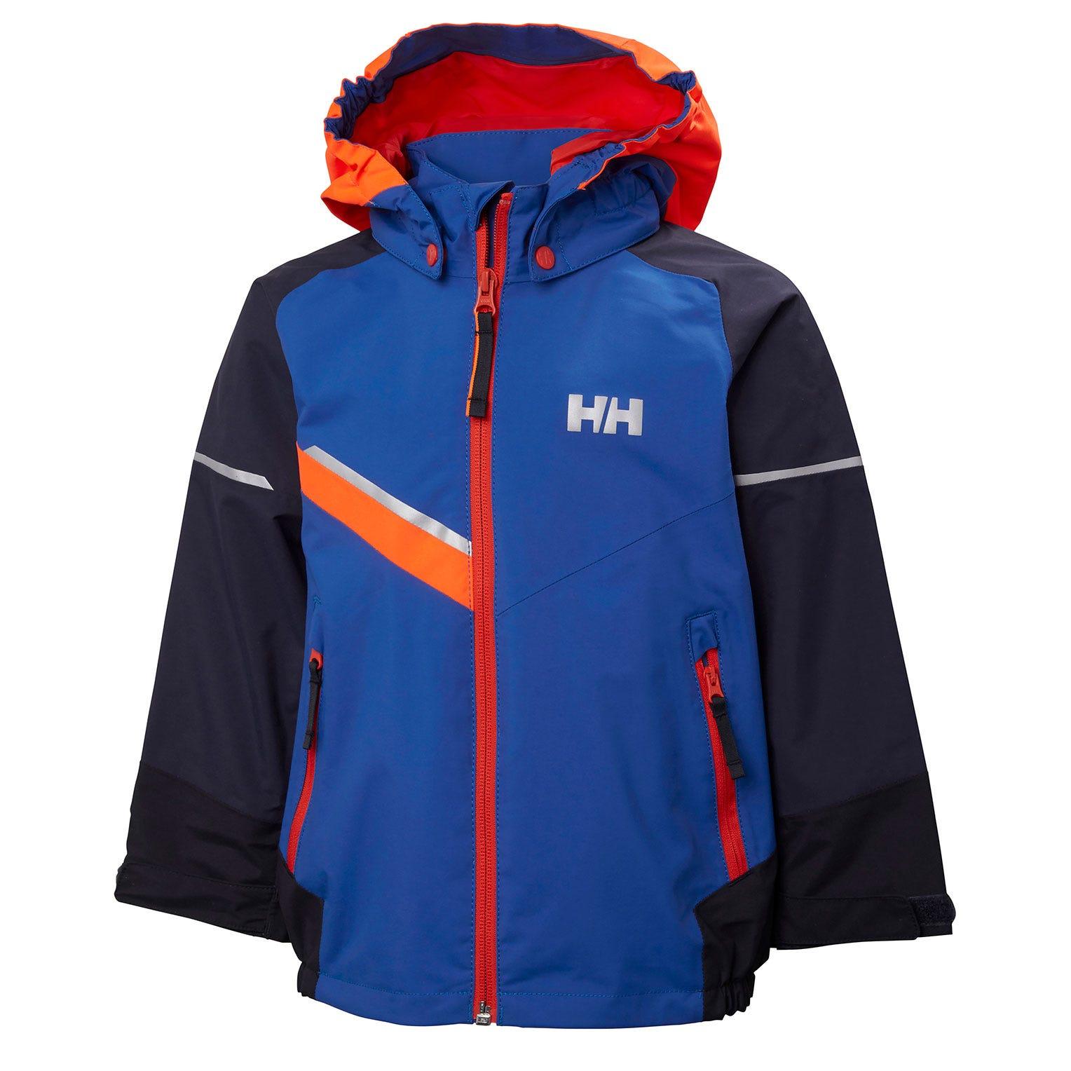 Helly Hansen Kids Norse Rain Jacket Blue 140/10