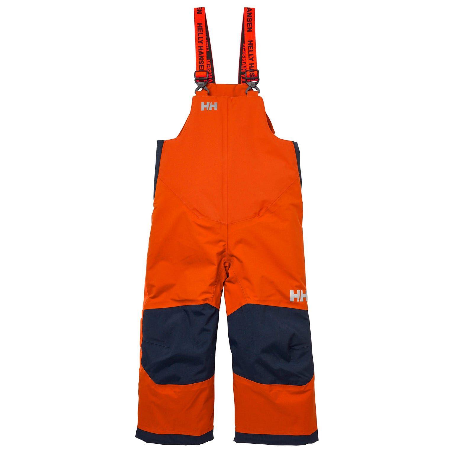 Helly Hansen Kids Rider 2 Insulated Bib Orange 110/5