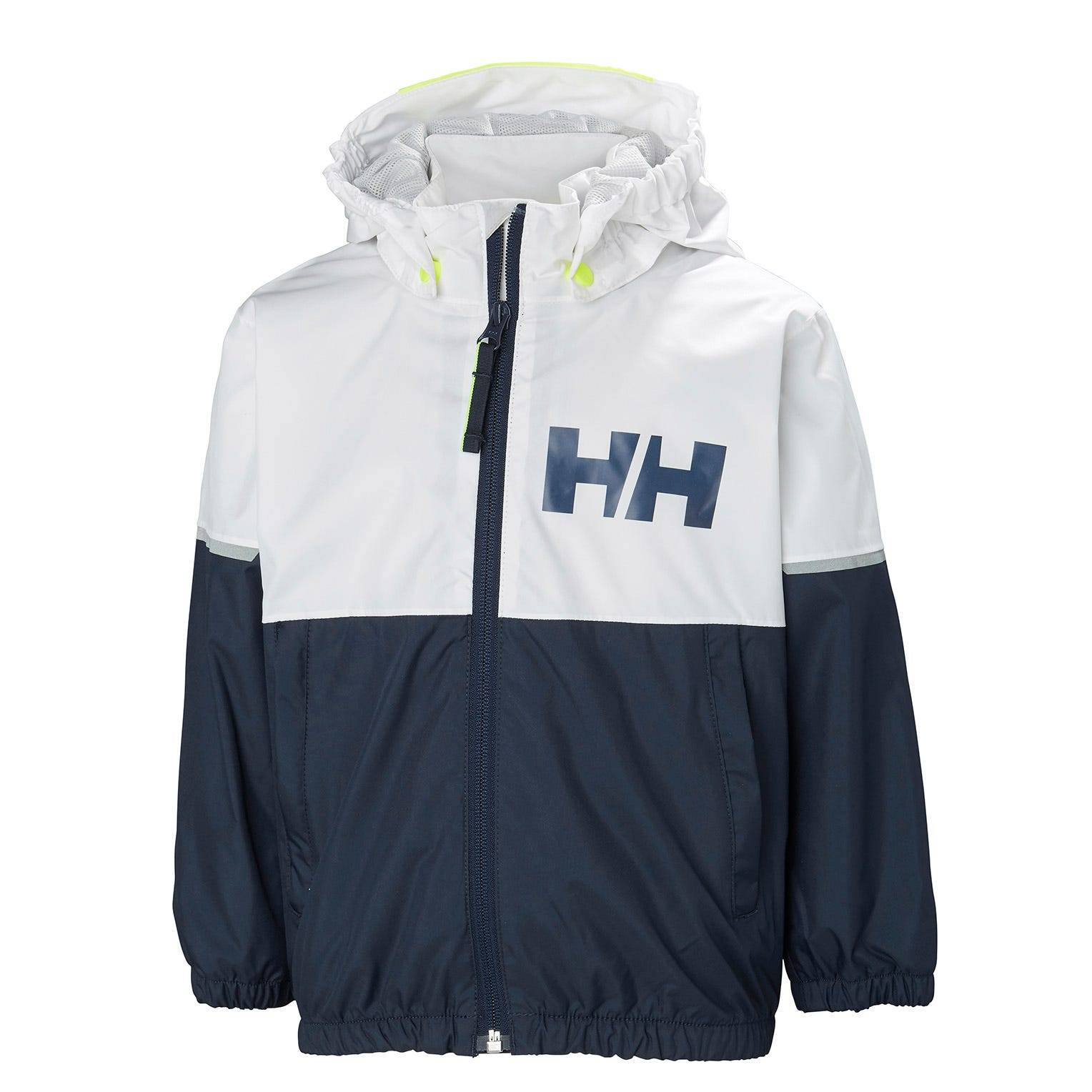 Helly Hansen Kids Block It Rain Jacket White 98/3