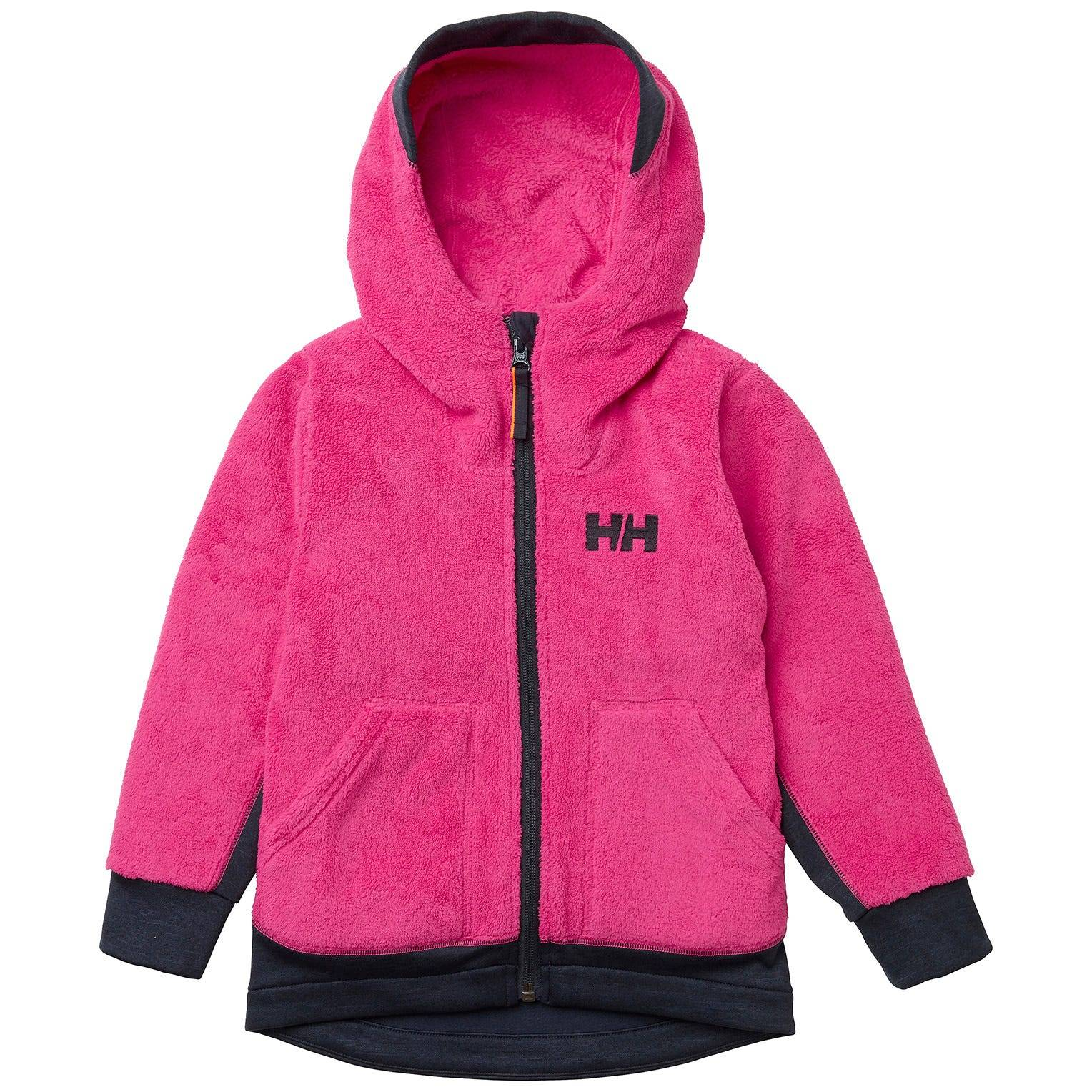 Helly Hansen Kids Chill Fz Hoodie Fleece Pink 86/1