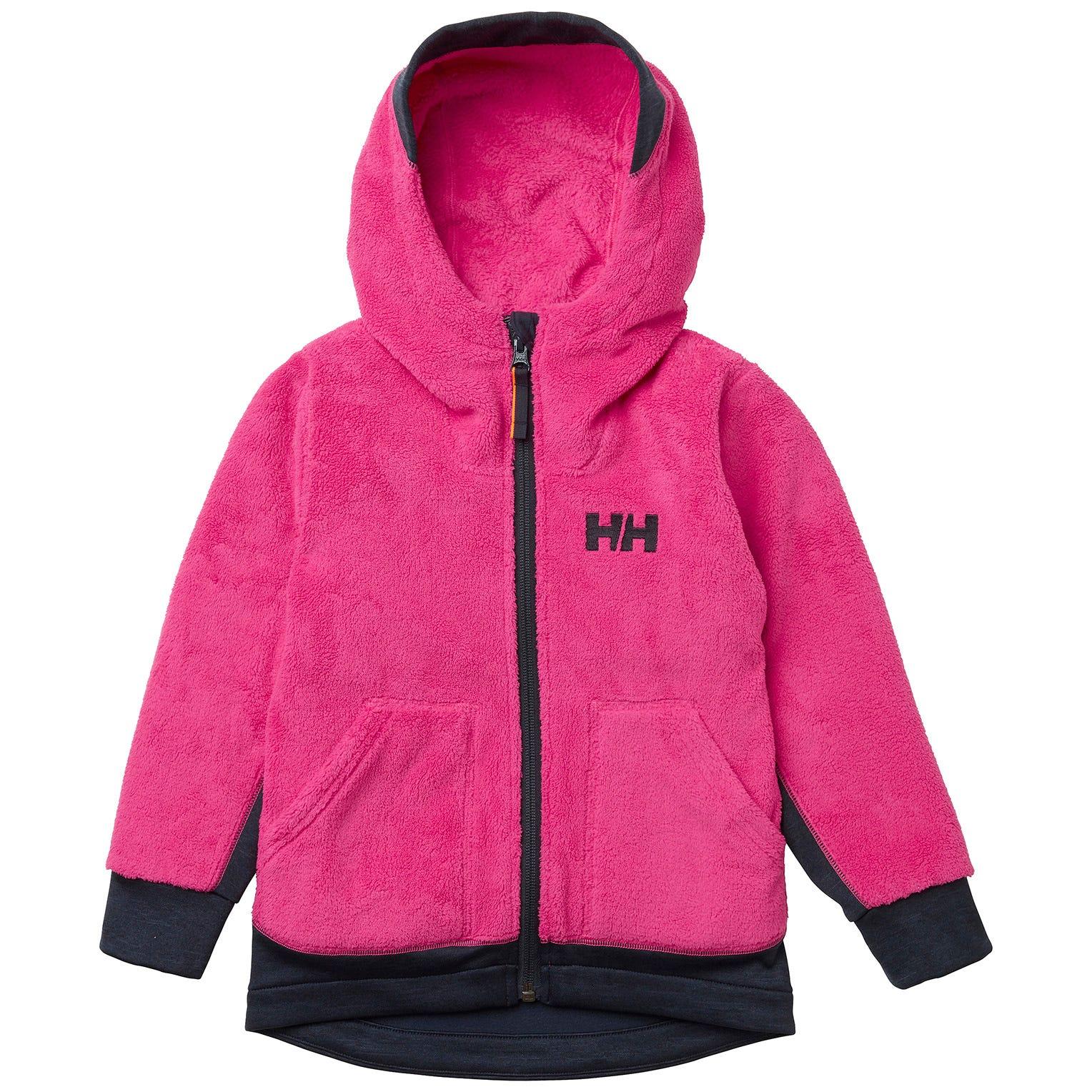 Helly Hansen Kids Chill Fz Hoodie Fleece Pink 104/4