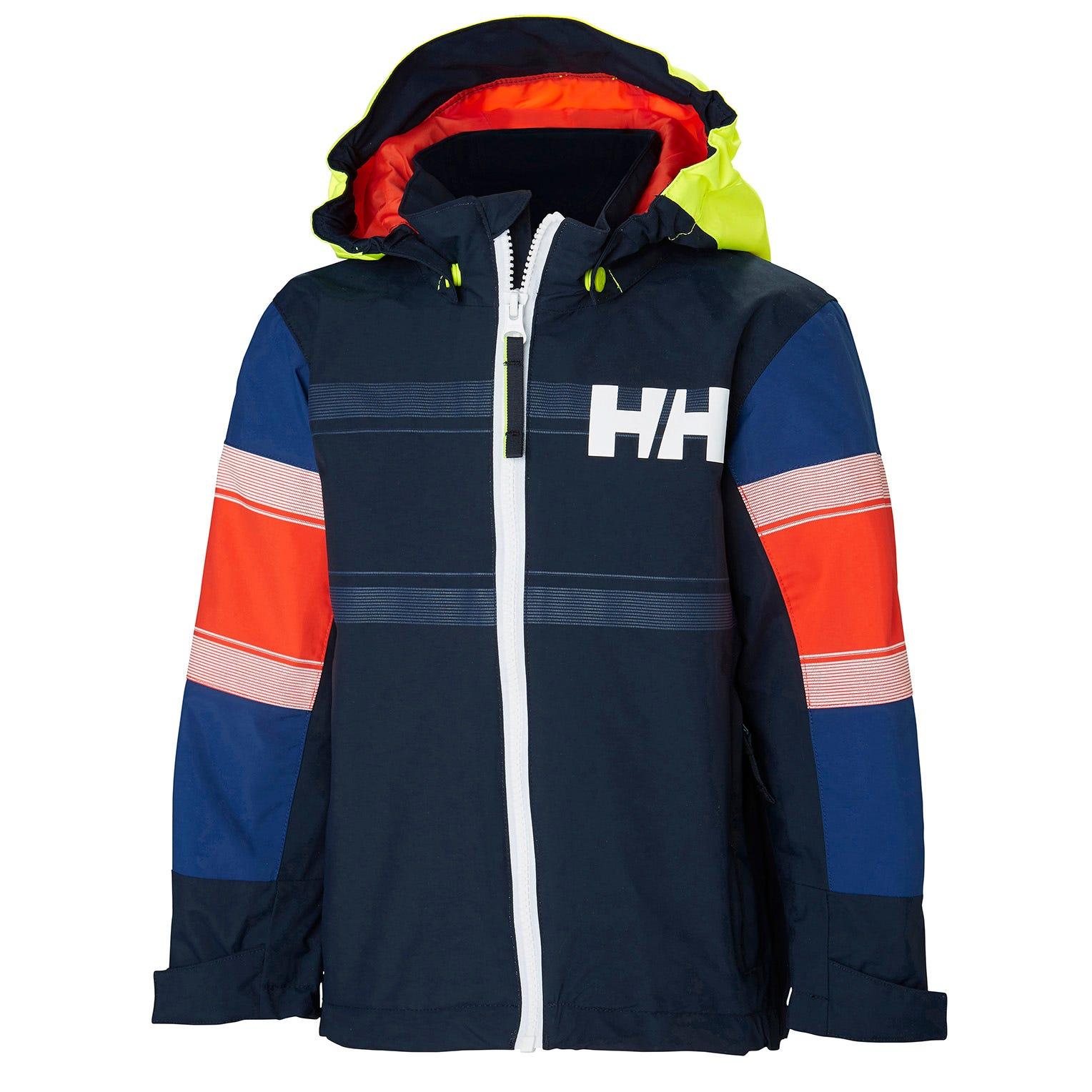 Helly Hansen Kids Salt Coast Jacket Parka Navy 116/6