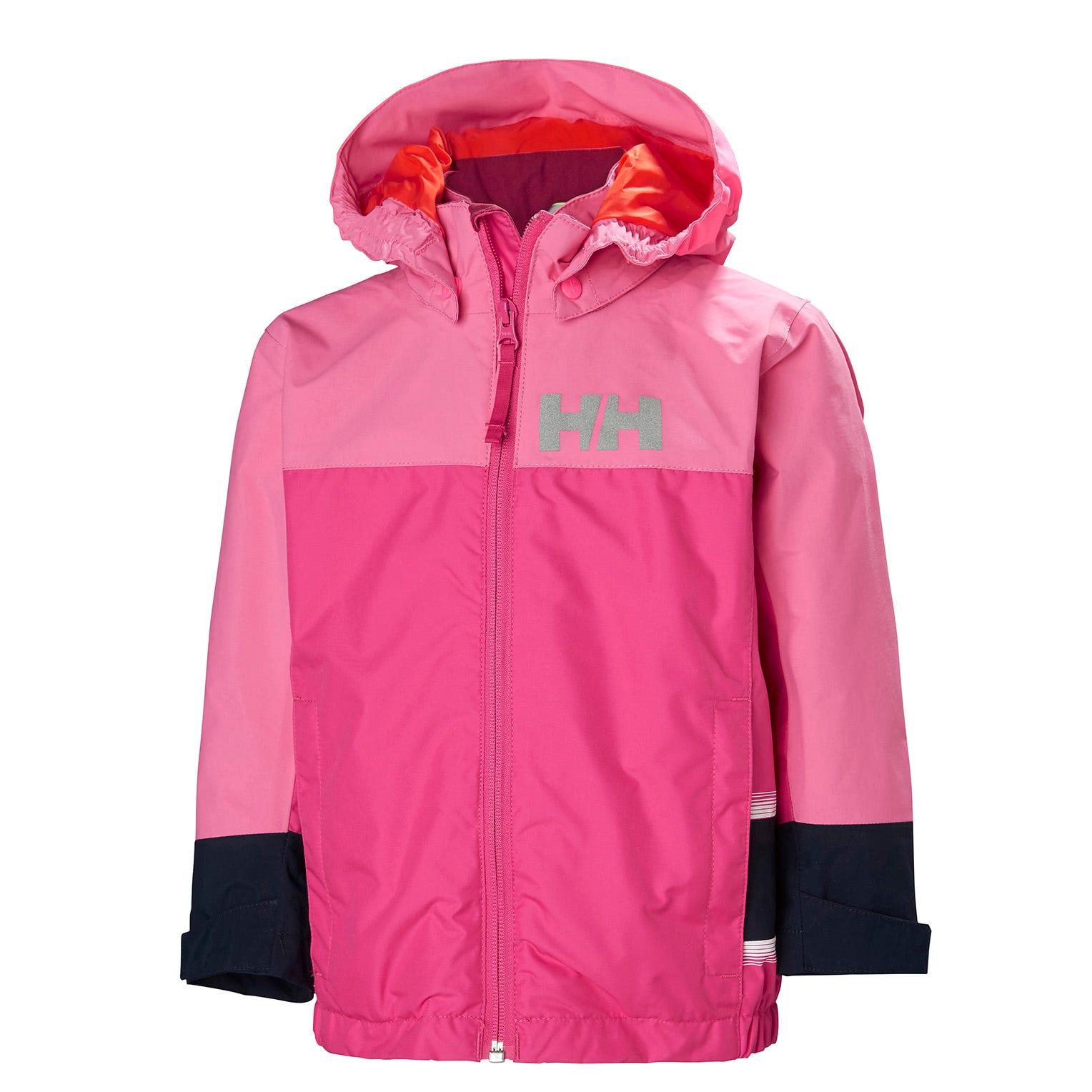 Helly Hansen Kids Norse Jacket Parka Pink 134/9