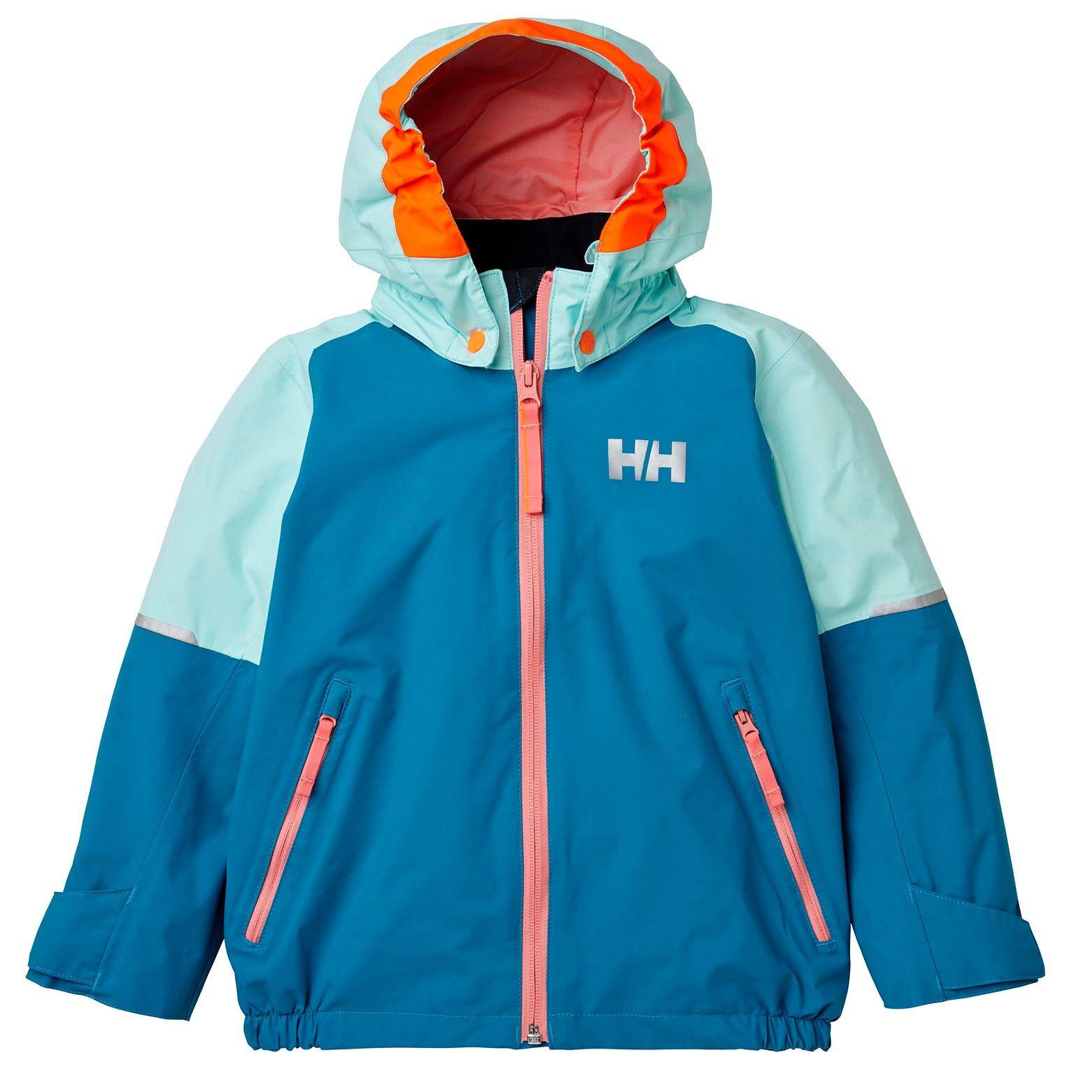 Helly Hansen Kids Shelter Jacket Parka Blue 98/3