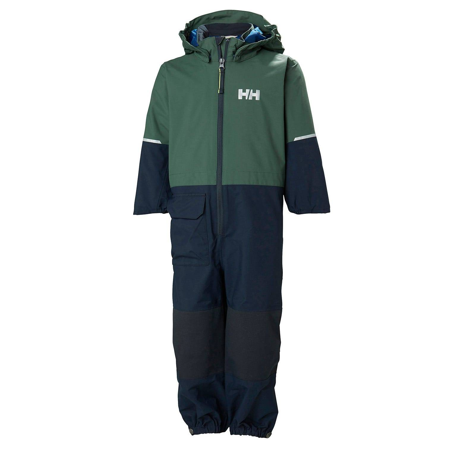 Helly Hansen Kids Cover Playsuit Green 92/2