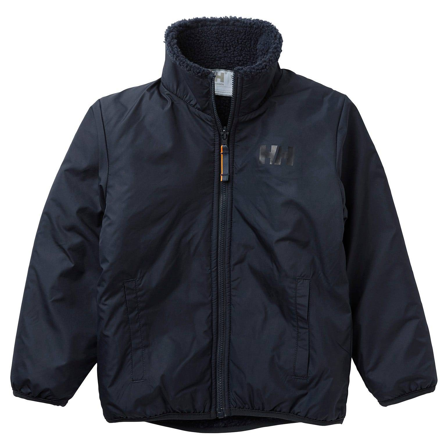 Helly Hansen Kids Reversible Pile Jacket Parka Navy 104/4