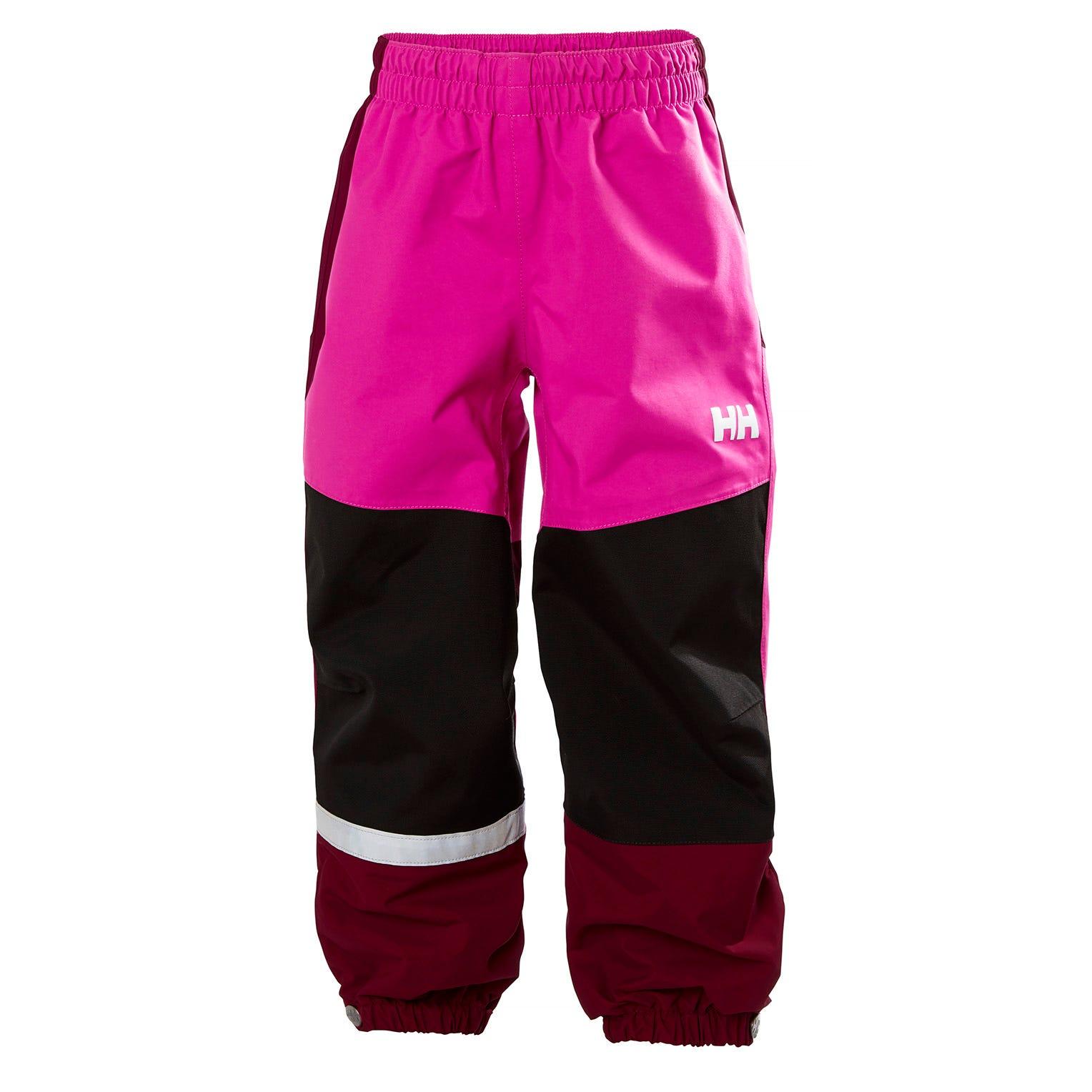 Helly Hansen Kids Shield Rain Pant Pink 104/4