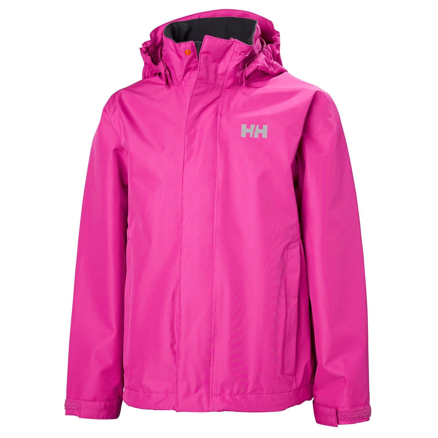 Helly Hansen Junior Seven J Jacket Kids Rain Pink 140/10