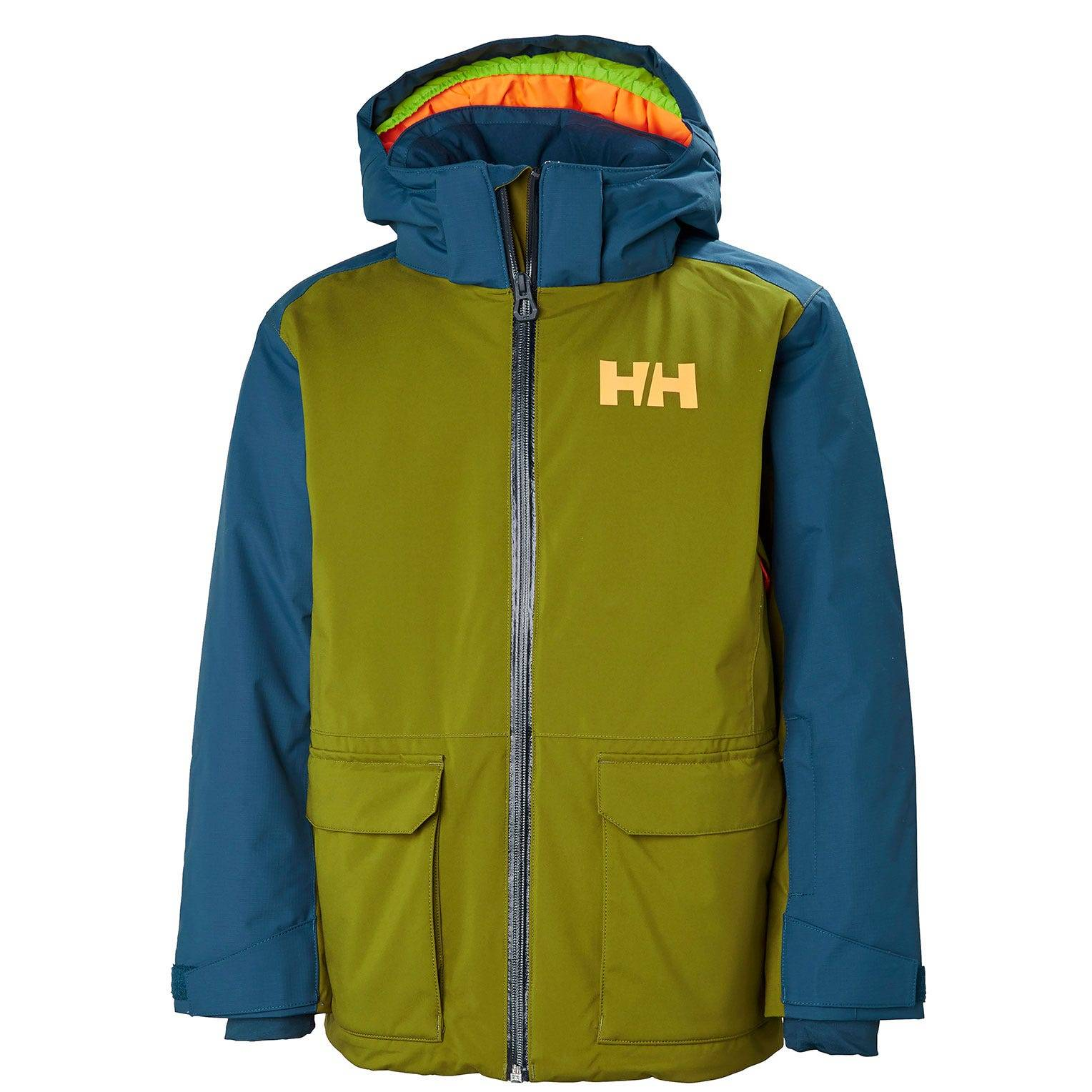 Helly Hansen Junior Skyhigh Jacket Kids Green 140/10