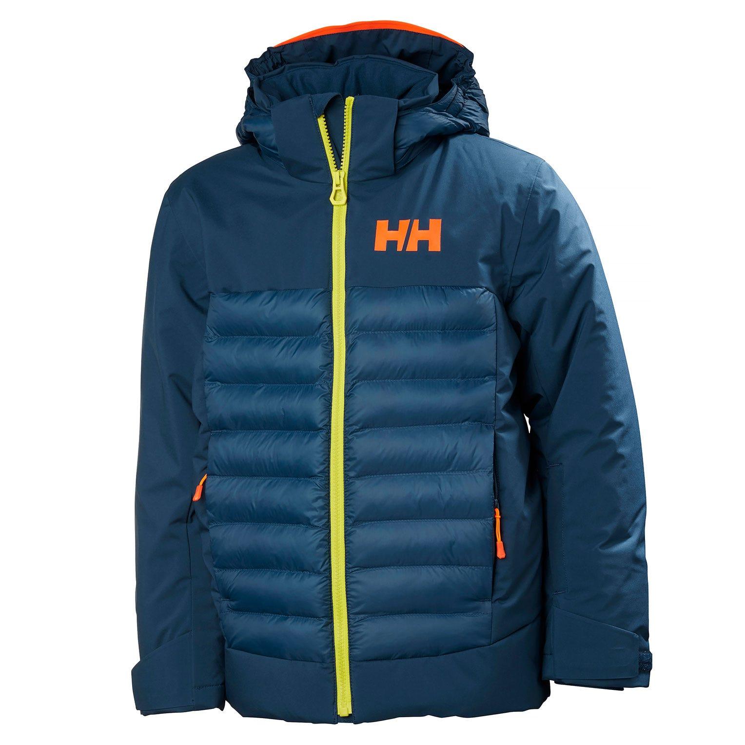 Helly Hansen Junior Summit Jacket Kids Blue 176/16