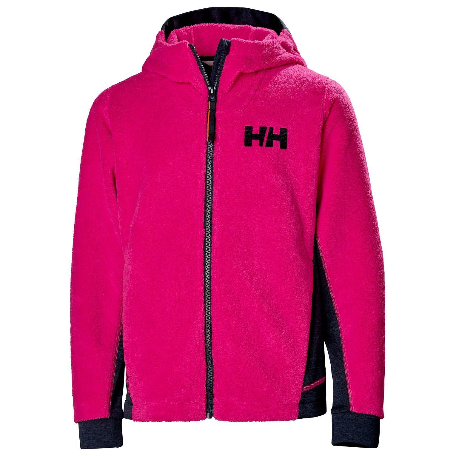 Helly Hansen Junior Chill Fz Hoodie Kids Fleece Pink 152/12