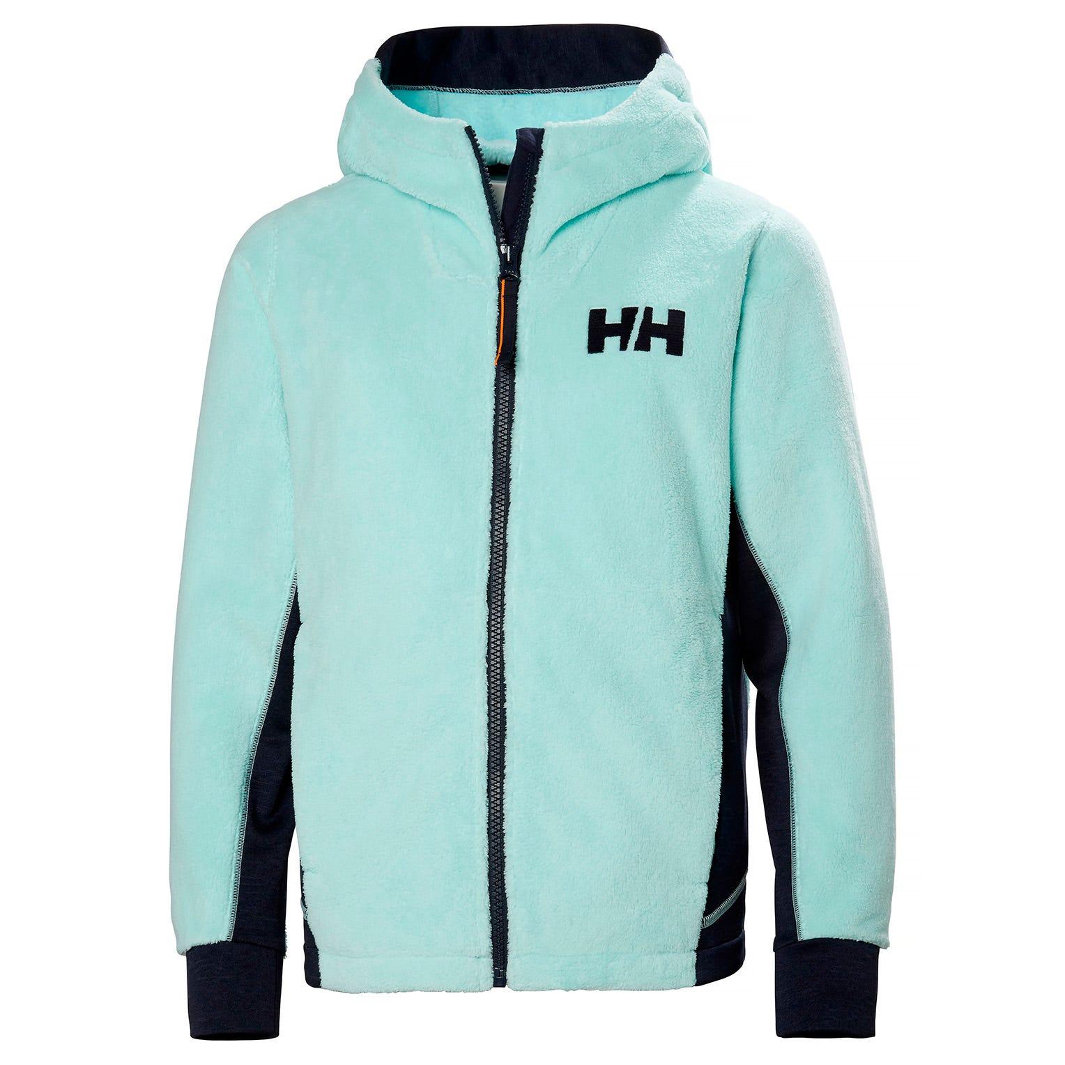 Helly Hansen Junior Chill Fz Hoodie Kids Fleece Blue 152/12