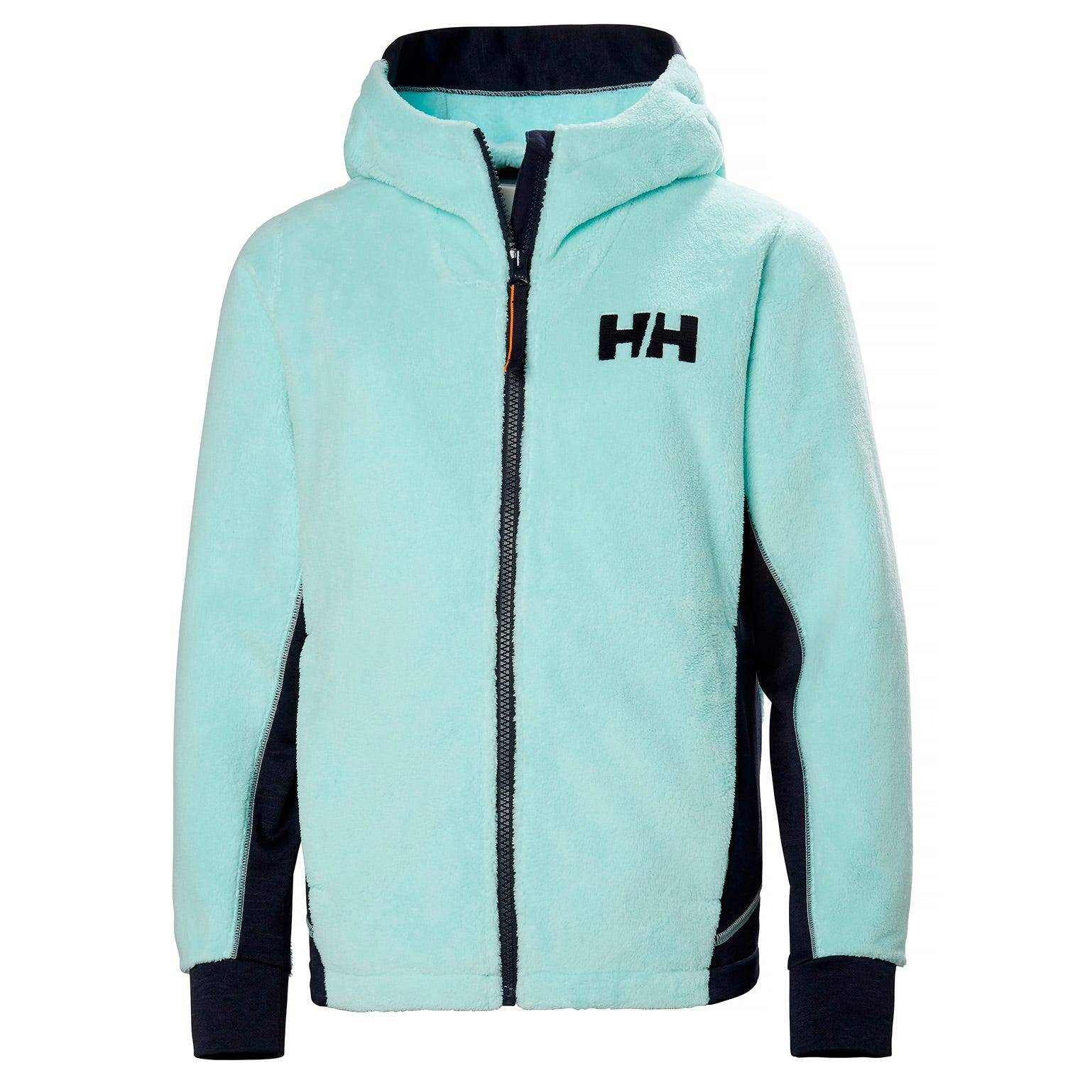 Helly Hansen Junior Chill Fz Hoodie Kids Fleece Blue 128/8