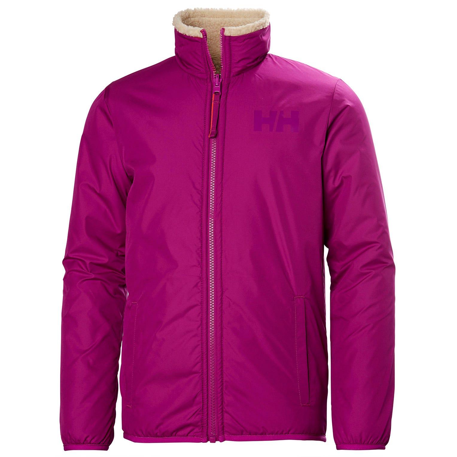 Helly Hansen Junior Reversible Pile Jacket Kids Pink 152/12