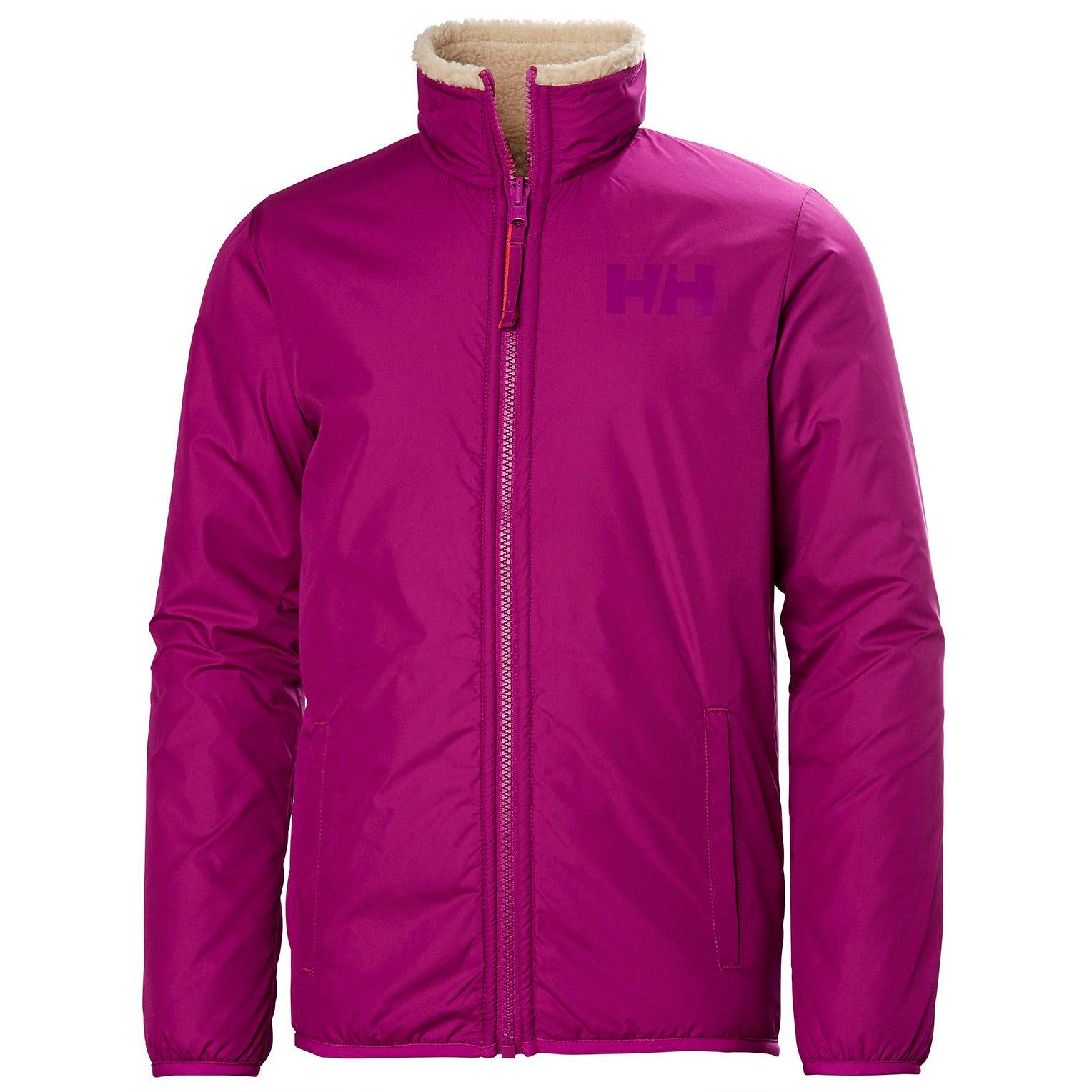 Helly Hansen Junior Reversible Pile Jacket Kids Pink 176/16