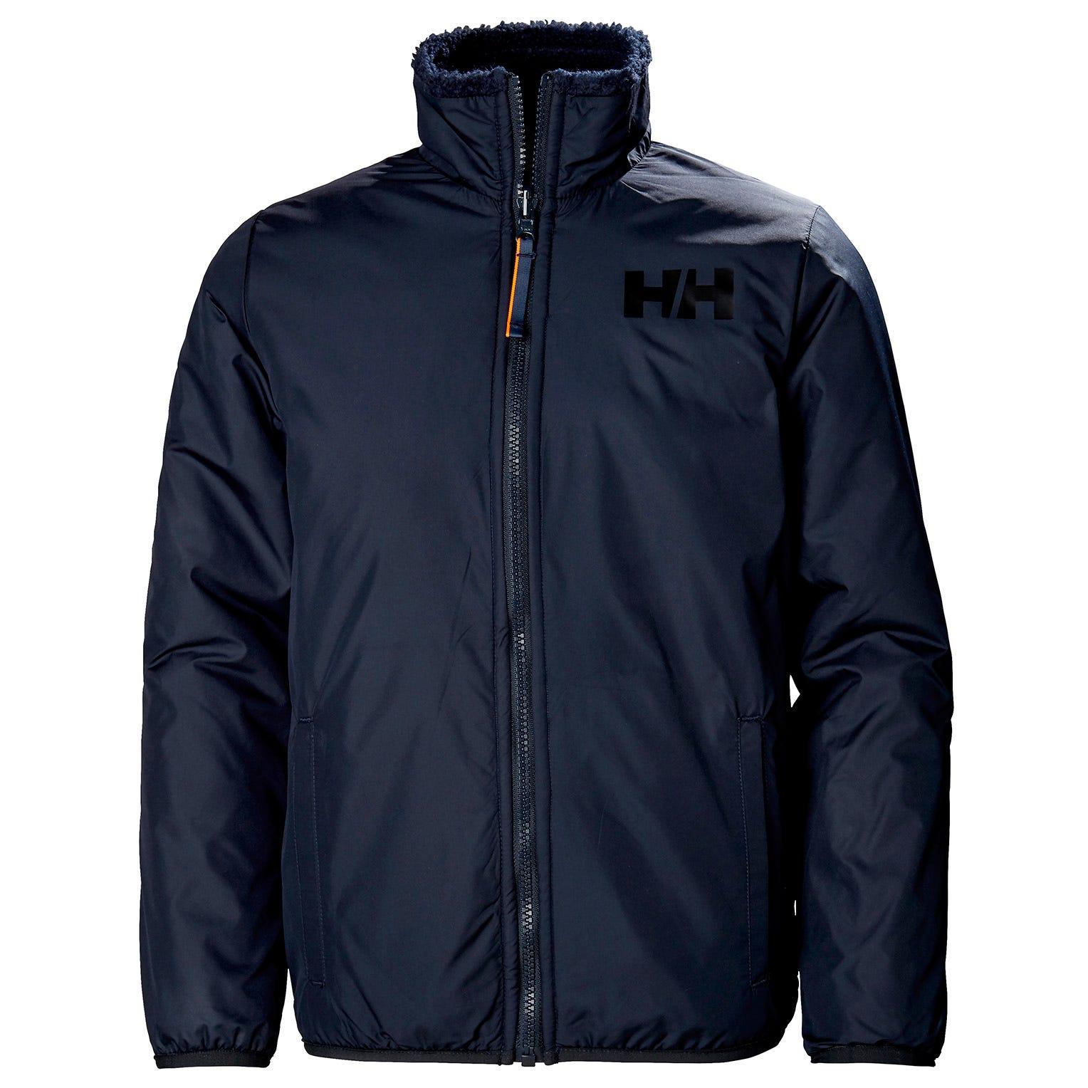 Helly Hansen Junior Reversible Pile Jacket Kids Navy 140/10