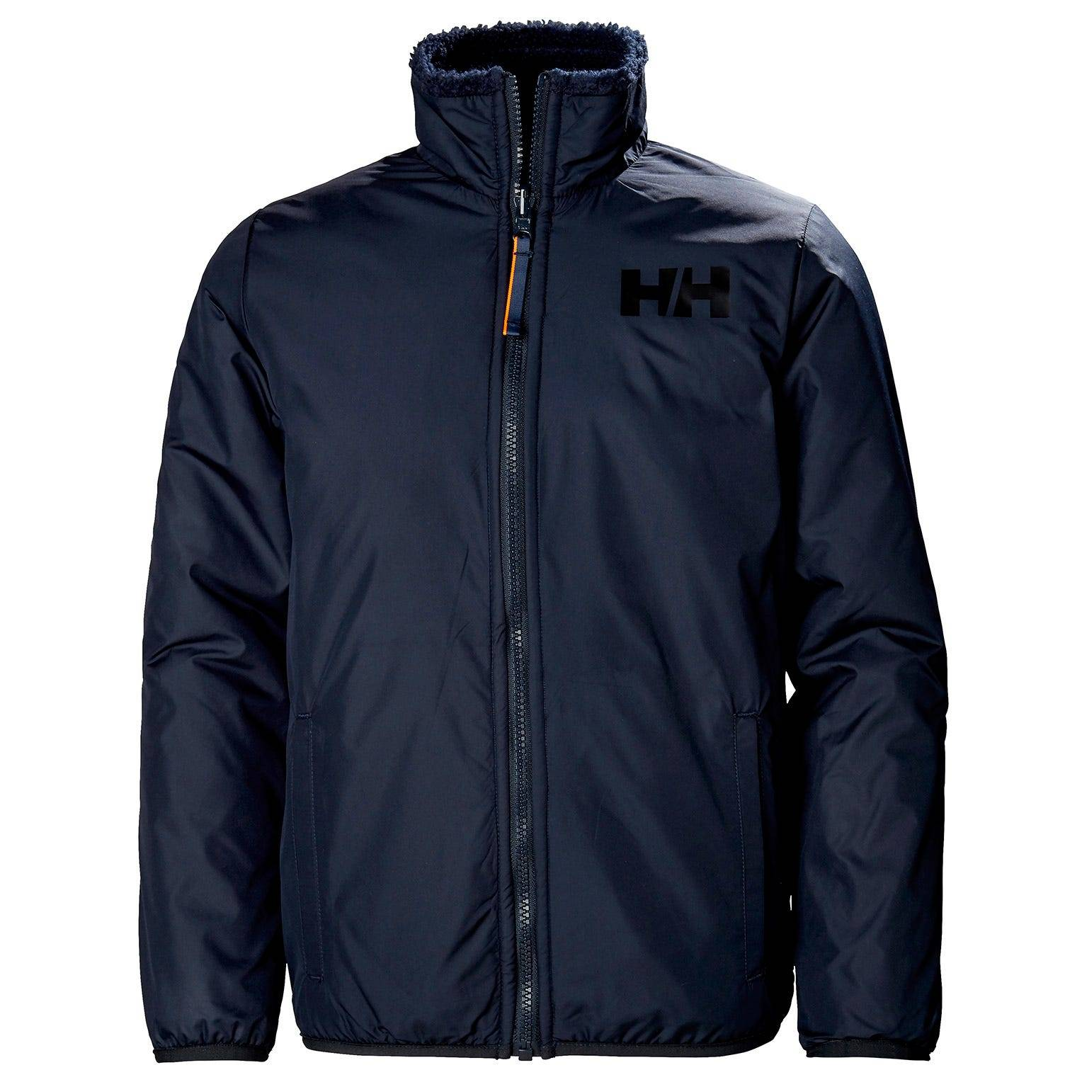 Helly Hansen Junior Reversible Pile Jacket Kids Navy 128/8