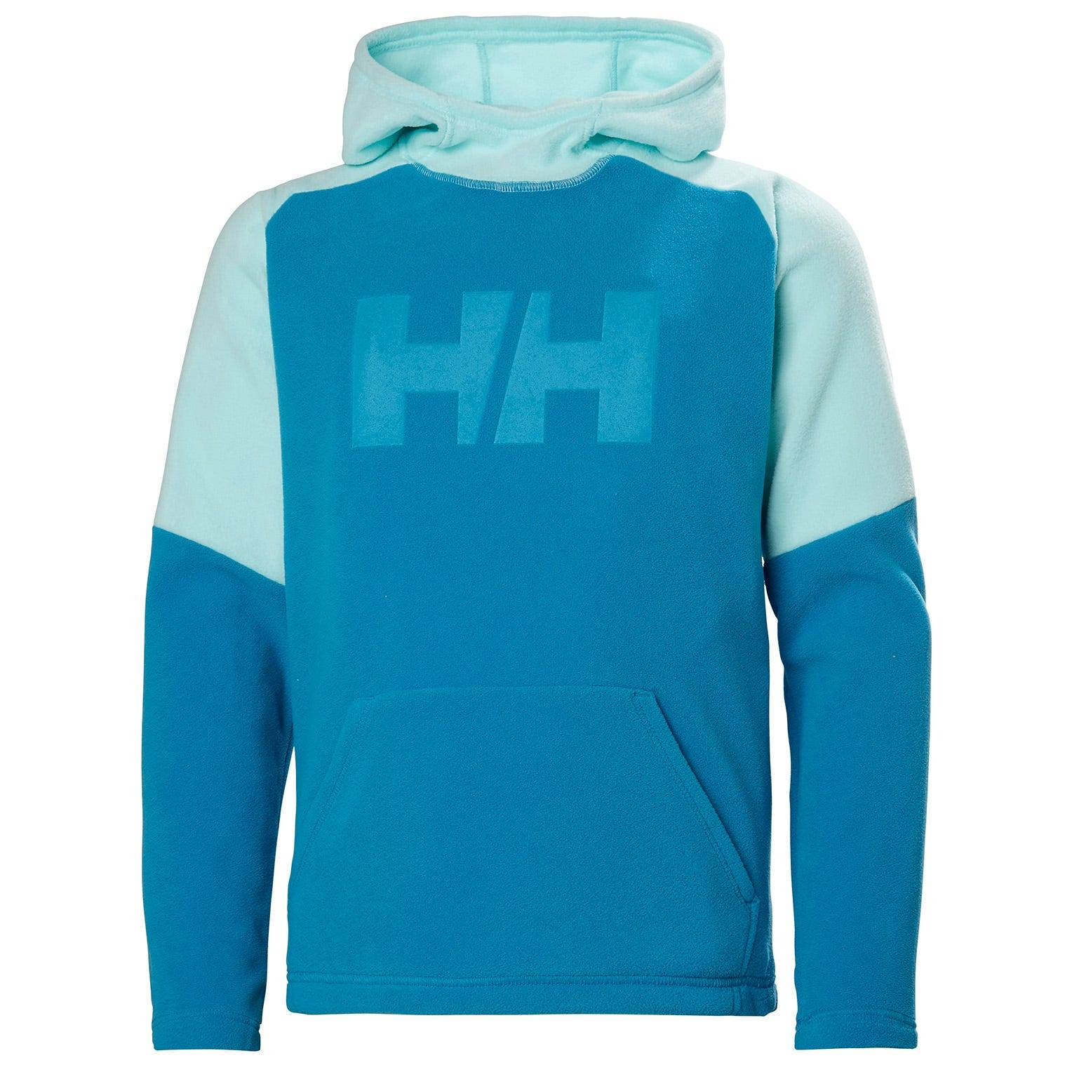 Helly Hansen Junior Daybreaker Hoodie Kids Fleece Blue 128/8