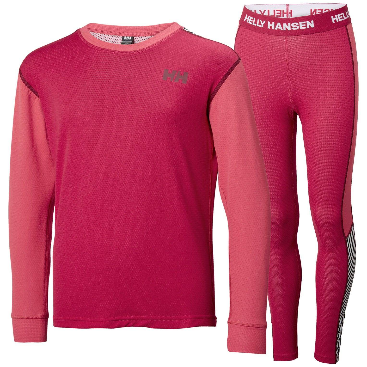 Helly Hansen Junior Lifa Active Set Kids Baselayer Pink 176/16