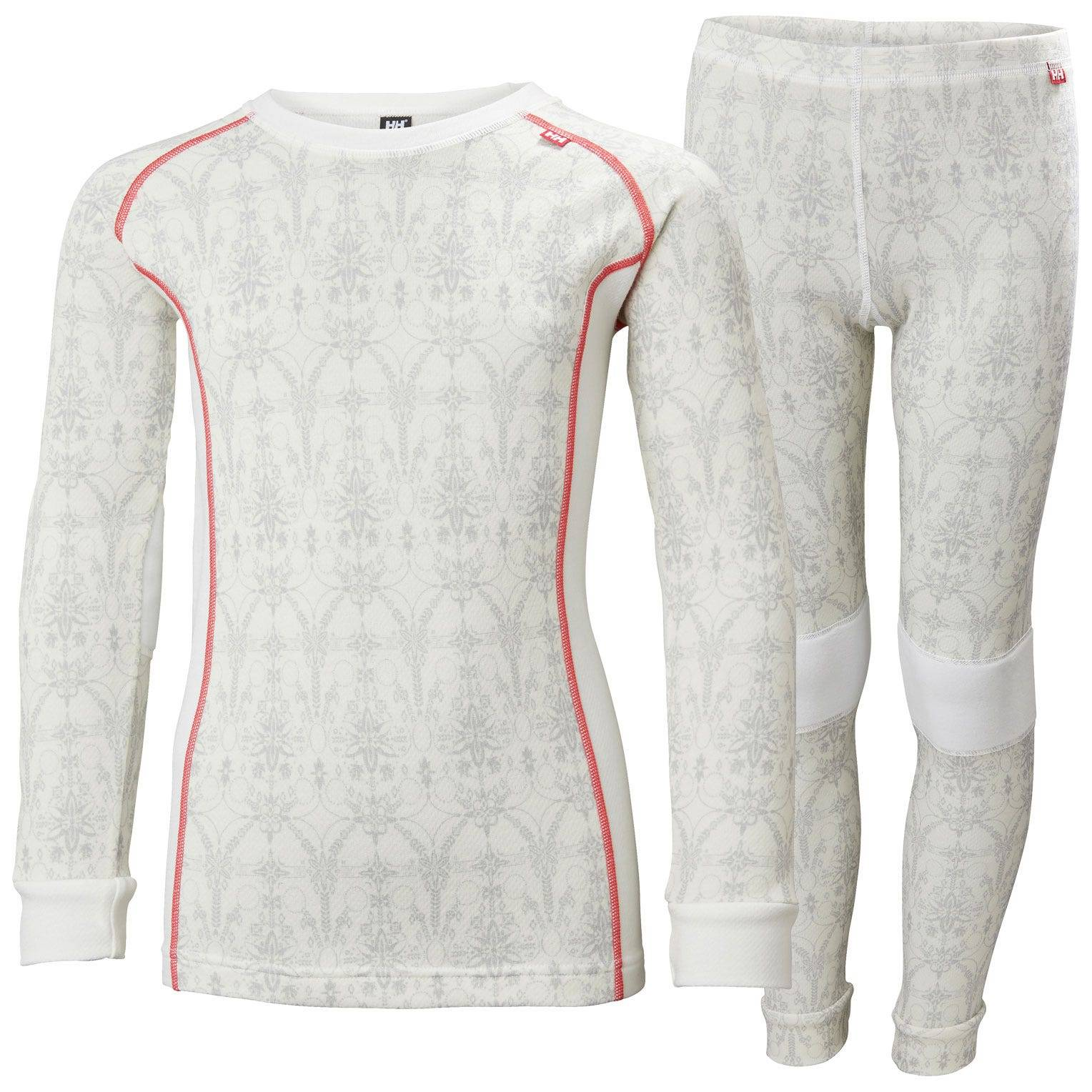 Helly Hansen Junior Lifa Merino Set Kids Baselayer White 164/14