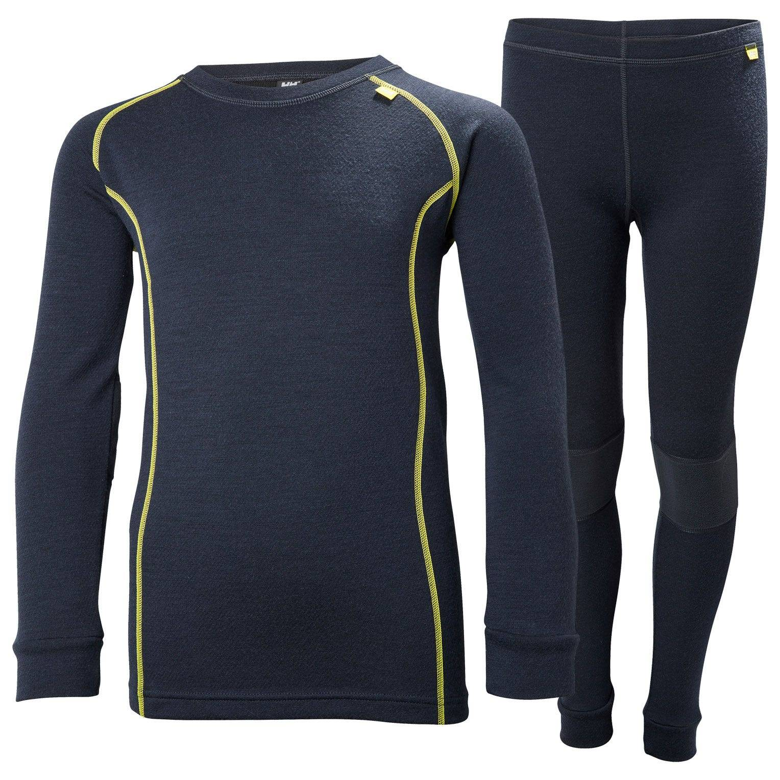 Helly Hansen Junior Lifa Merino Set Kids Baselayer Navy 164/14