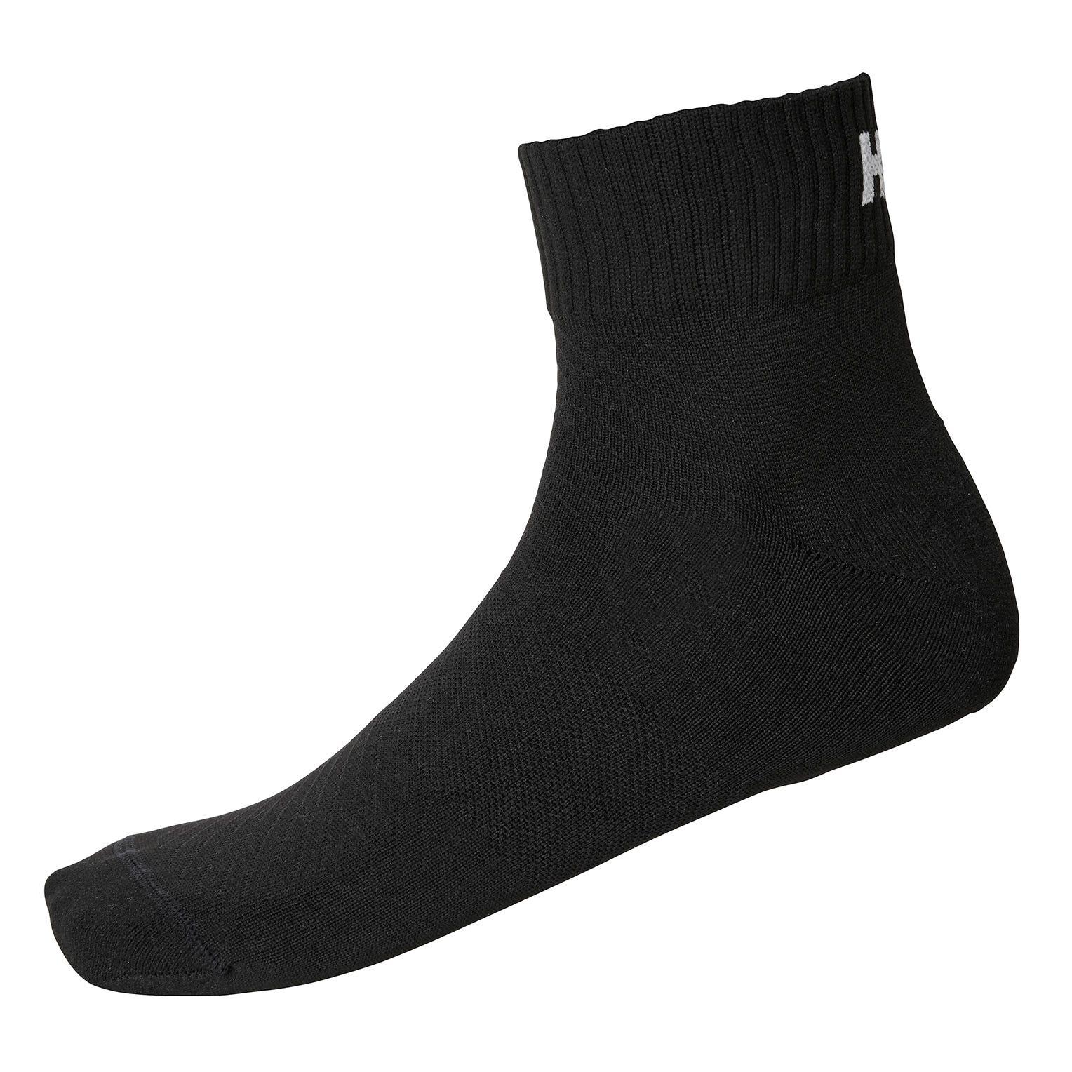 Helly Hansen Lifa Active 2-pack Sport Sock Black 39-41