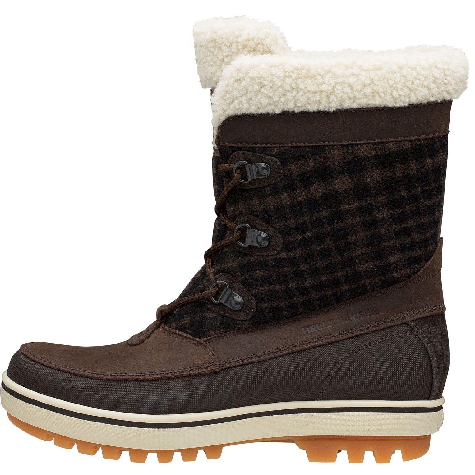 Helly Hansen W Georgina Womens Winter Boot Brown 37.5/6.5