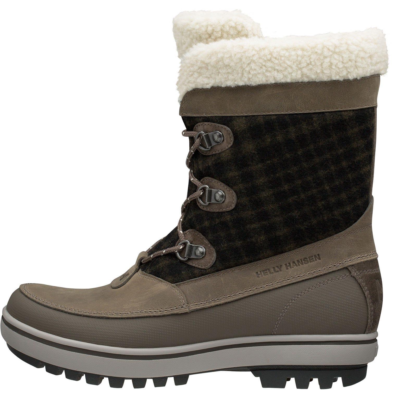 Helly Hansen W Georgina Womens Winter Boot Grey 40.5/9