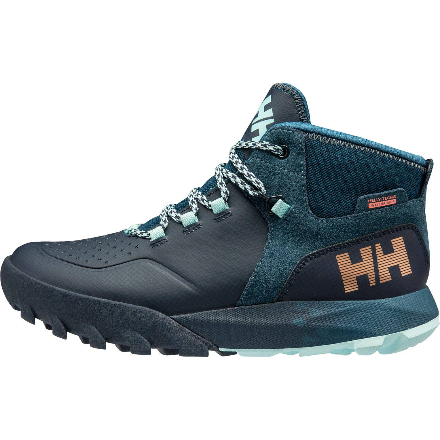 Helly Hansen W Loke Rambler Ht Womens Hiking Boot Navy 38/7