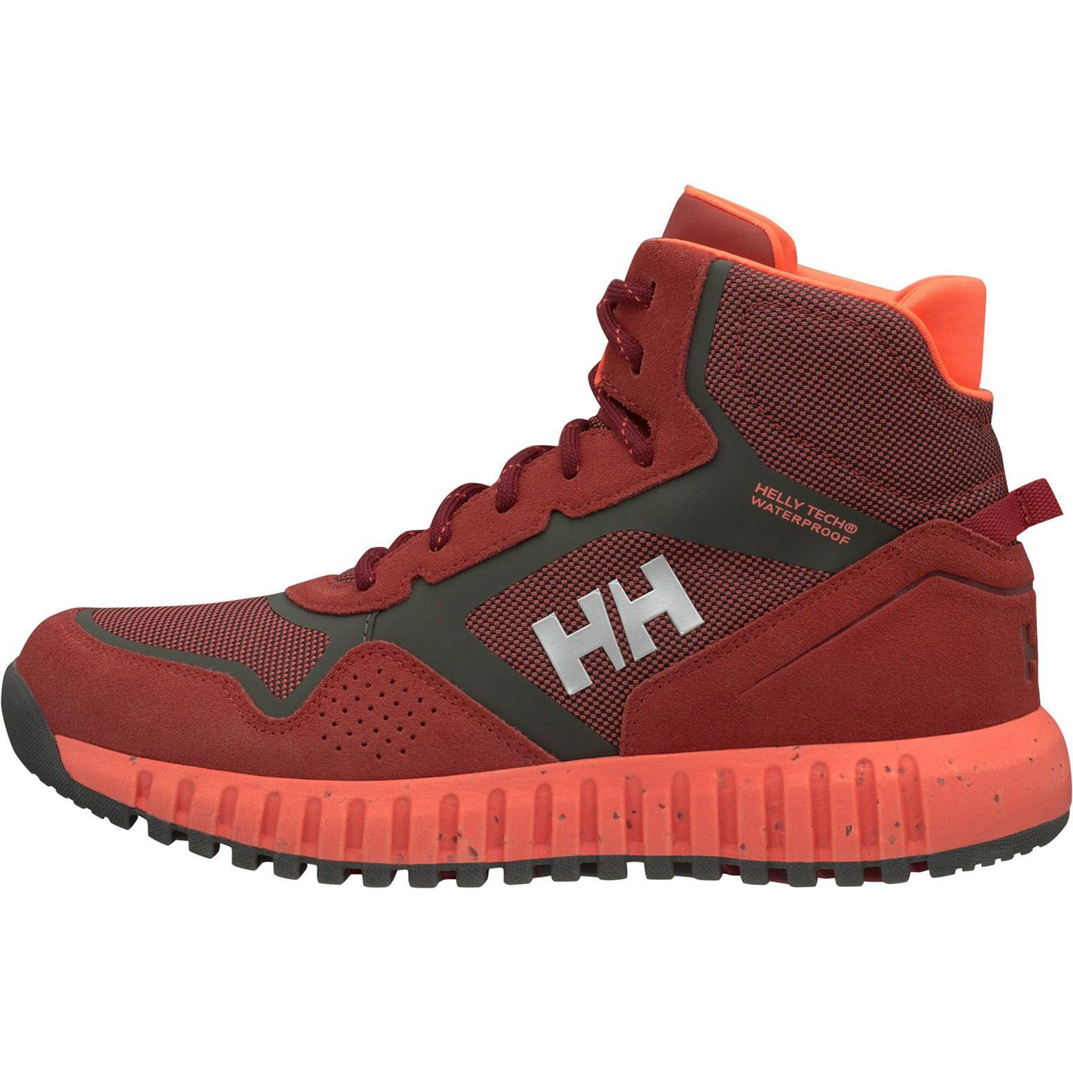 Helly Hansen W Monashee Ullr Ht Womens Hiking Boot Red 39.3/8