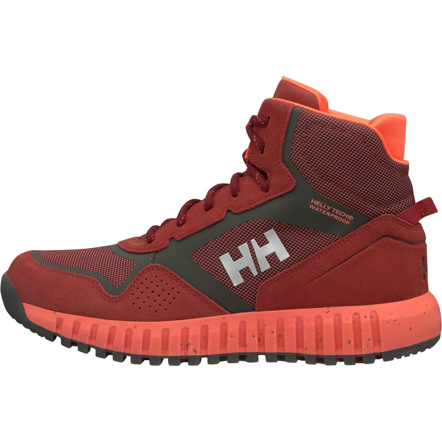 Helly Hansen W Monashee Ullr Ht Womens Hiking Boot Red 41/9.5