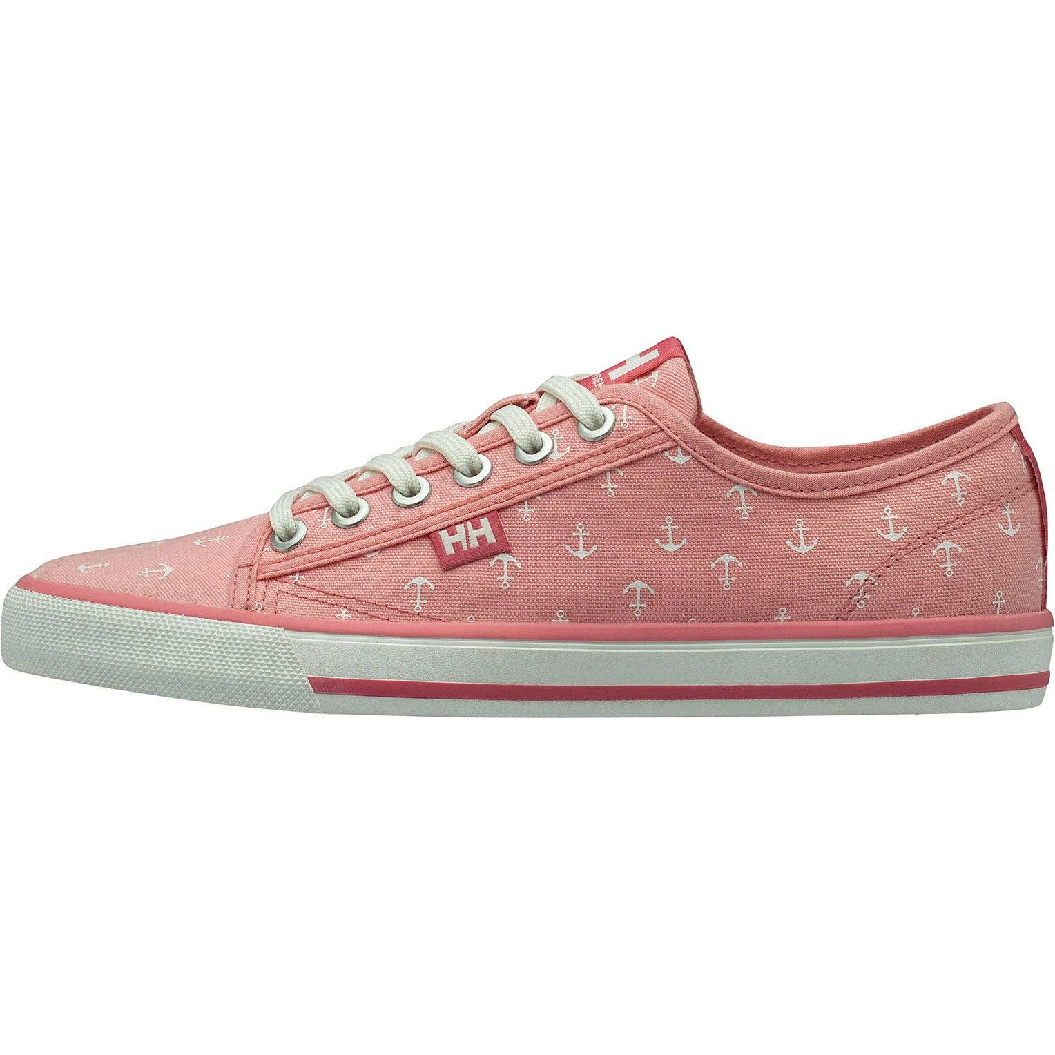 Helly Hansen W Fjord Canvas Shoe V2 Womens Casual Pink 40.5/9
