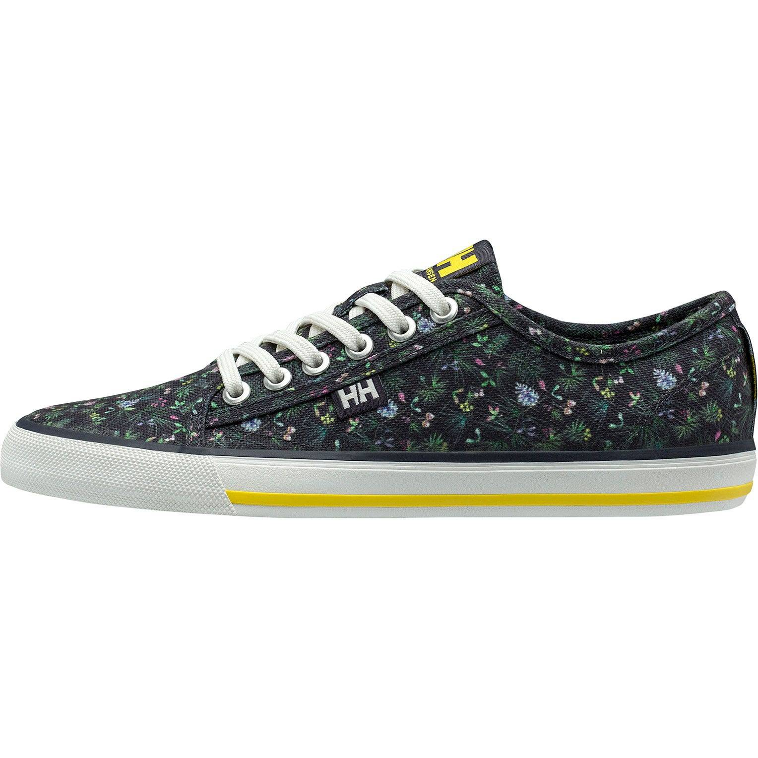 Helly Hansen W Fjord Canvas Shoe V2 Womens Casual Blue 37.5/6.5