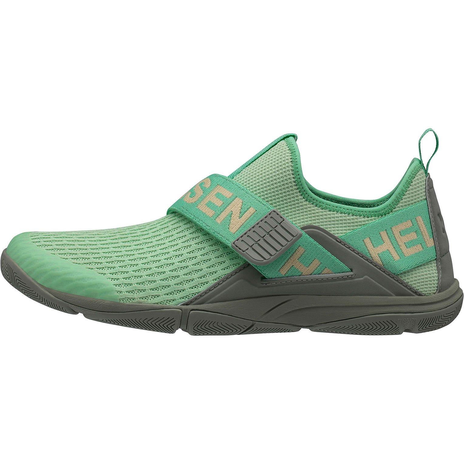 Helly Hansen W Hydromoc Slipon Shoe Womens Sailing Green 38.7/7.5