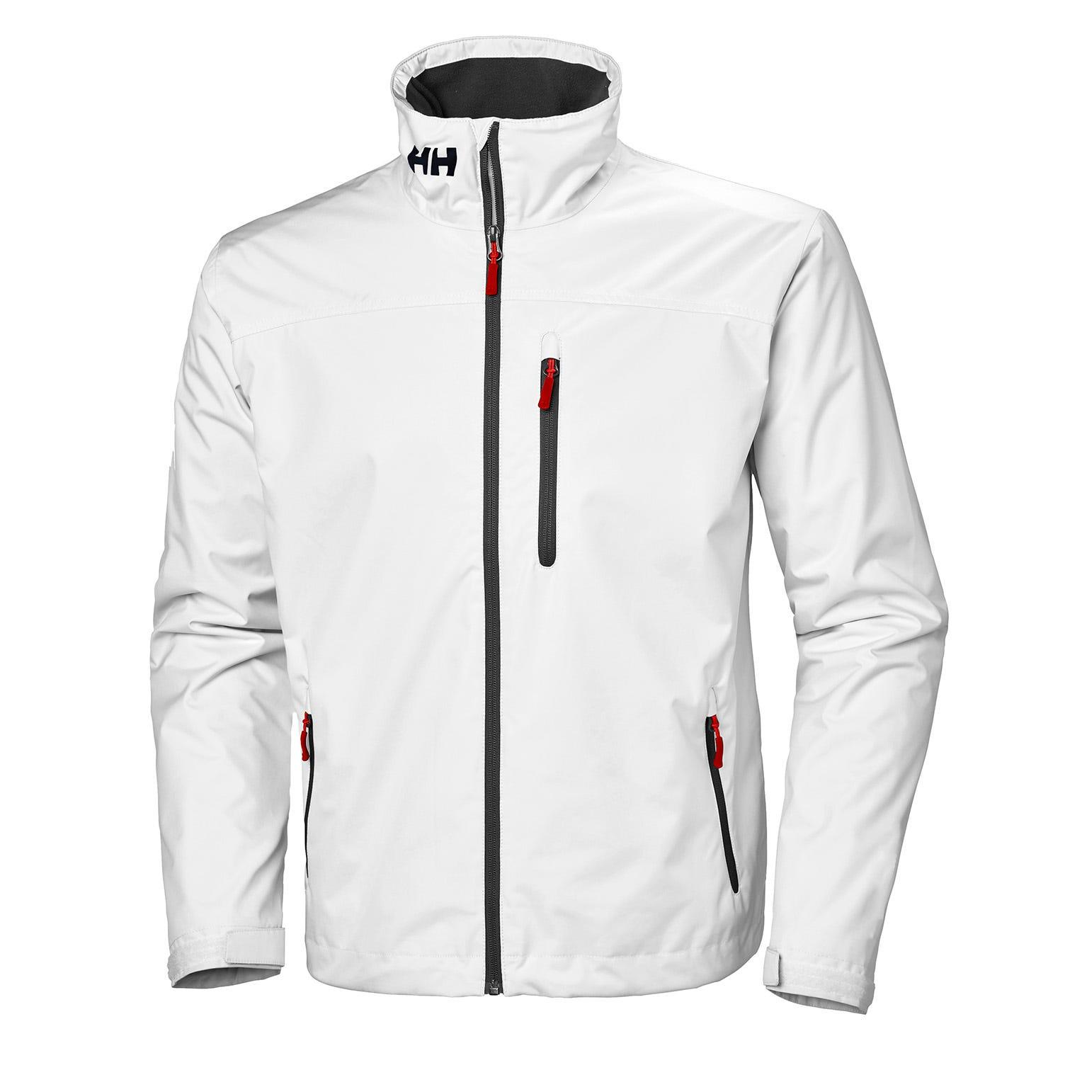 Helly Hansen Crew Midlayer Jacket Mens Sailing White XXL