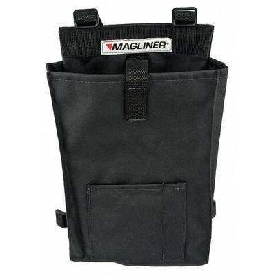 MAGLINER 302680 Accessory Bag,Canvas,13 in x 8 in,Black
