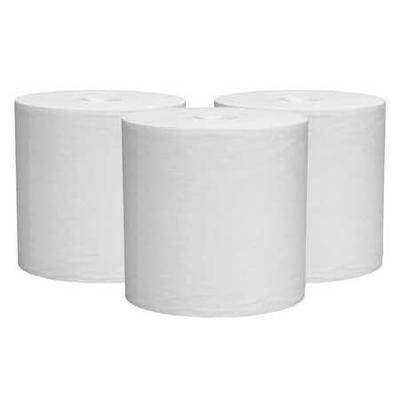 WYPALL 41702 Wiper Roll, White, Center Pull Roll, Hydroknit(R) ,