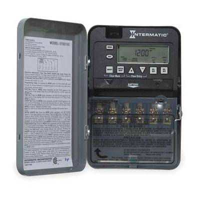 INTERMATIC ET1725C Electronic Timer,7 Days,SPST