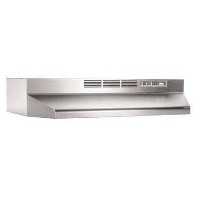 BROAN 413004 Hood,Duct Free,30 In,Stainless Steel